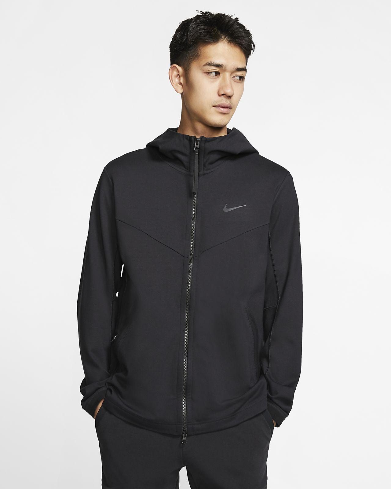 เสื้อแจ็คเก็ตมีฮู้ดซิปยาวผู้ชาย Nike Sportswear Tech Pack