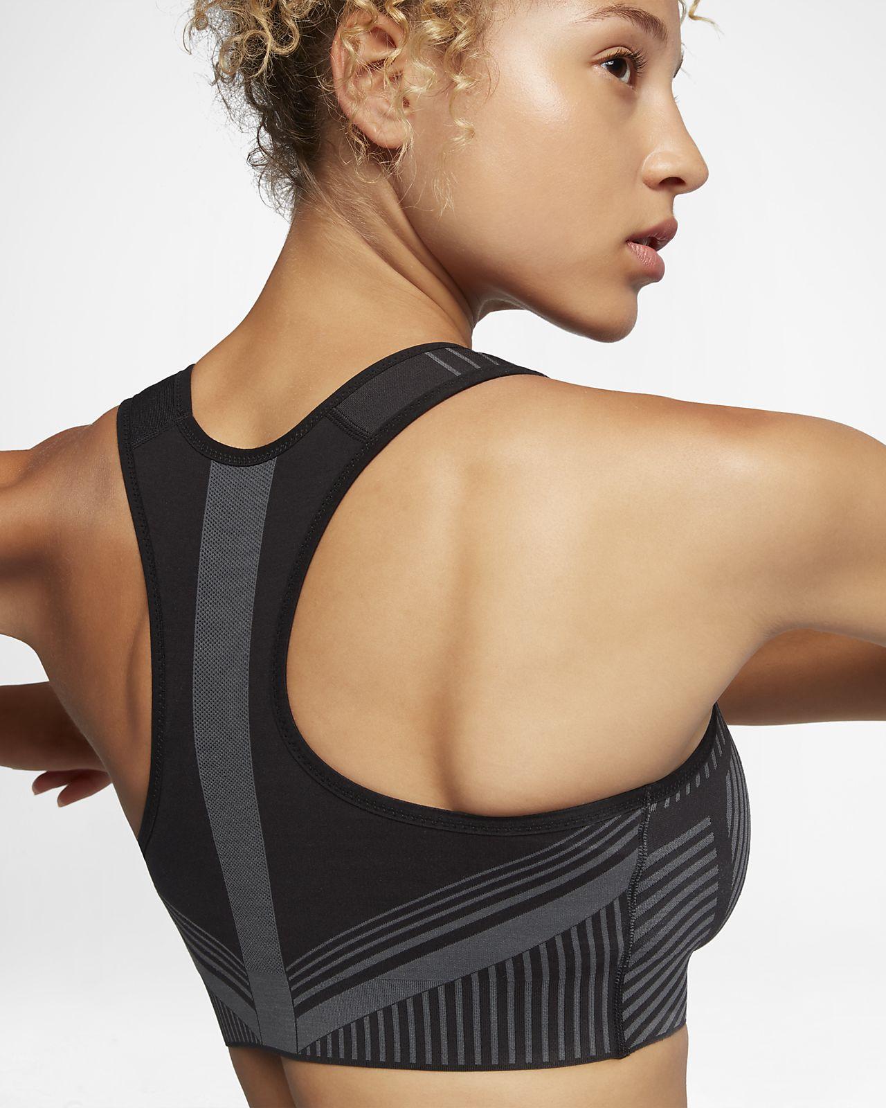 55e8fa05d67b0 Nike FE/NOM Flyknit Women's High-Support Sports Bra