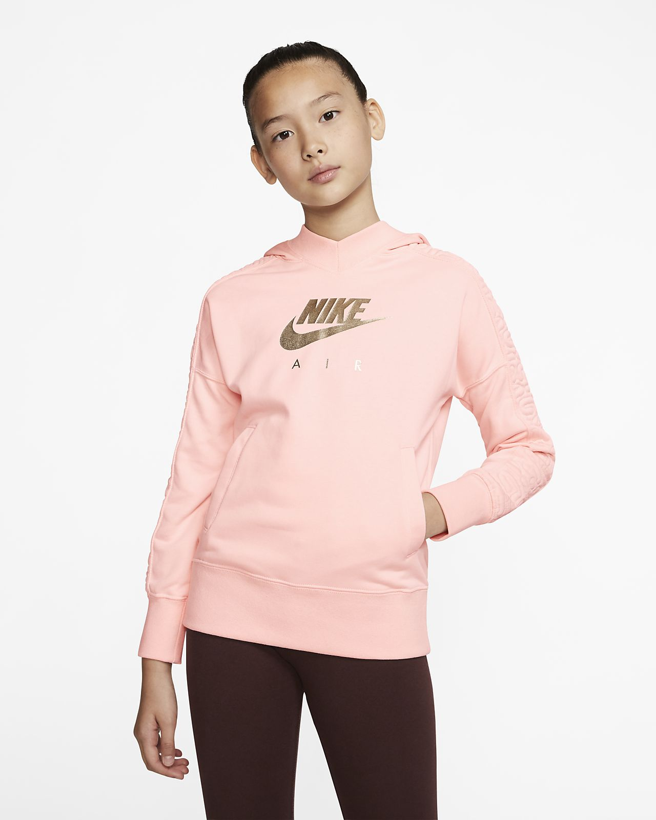 Nike Air Older Kids' (Girls') Pullover Hoodie
