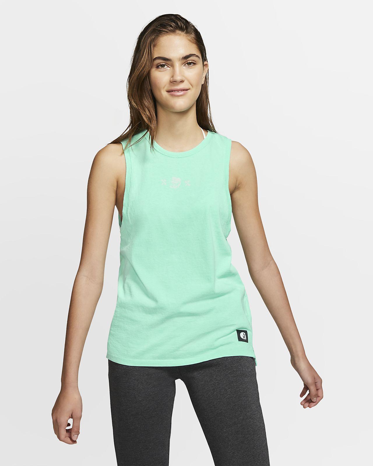 Camiseta de tirantes de ciclista para mujer Hurley x Carhartt