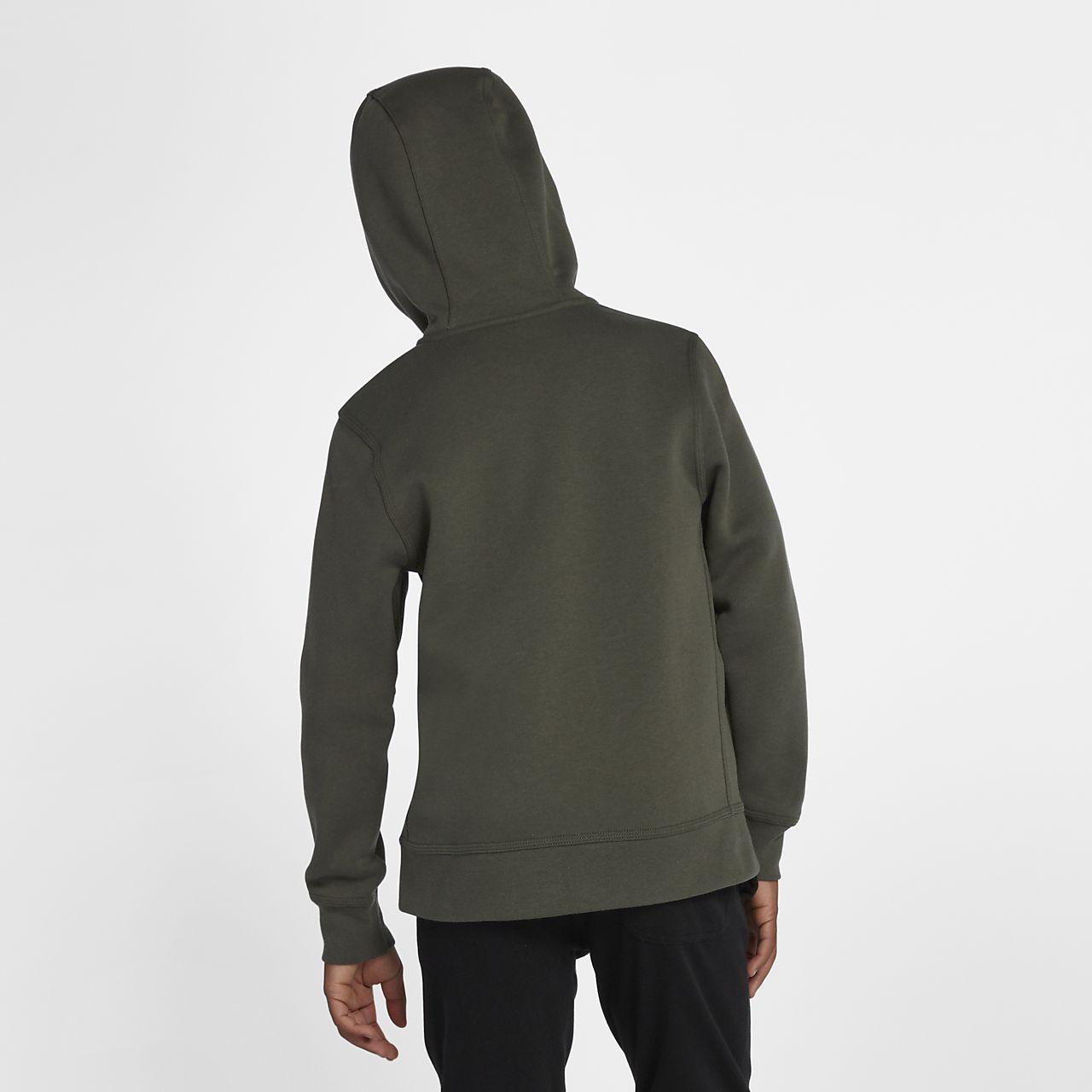 Nike Sportswear Kinder Hoodie mit durchgehendem Reißverschluss
