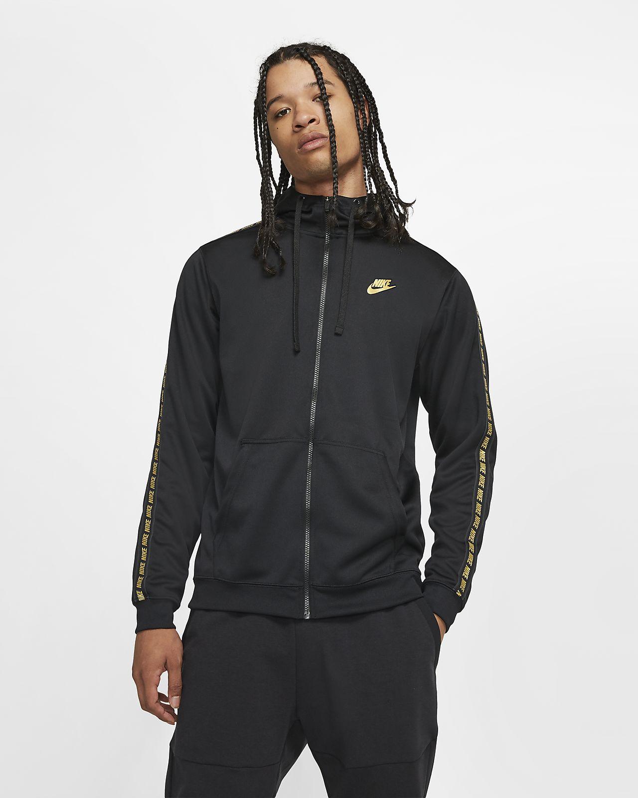 Damen Long Hoodie Nike Sportswear Air Mettalic