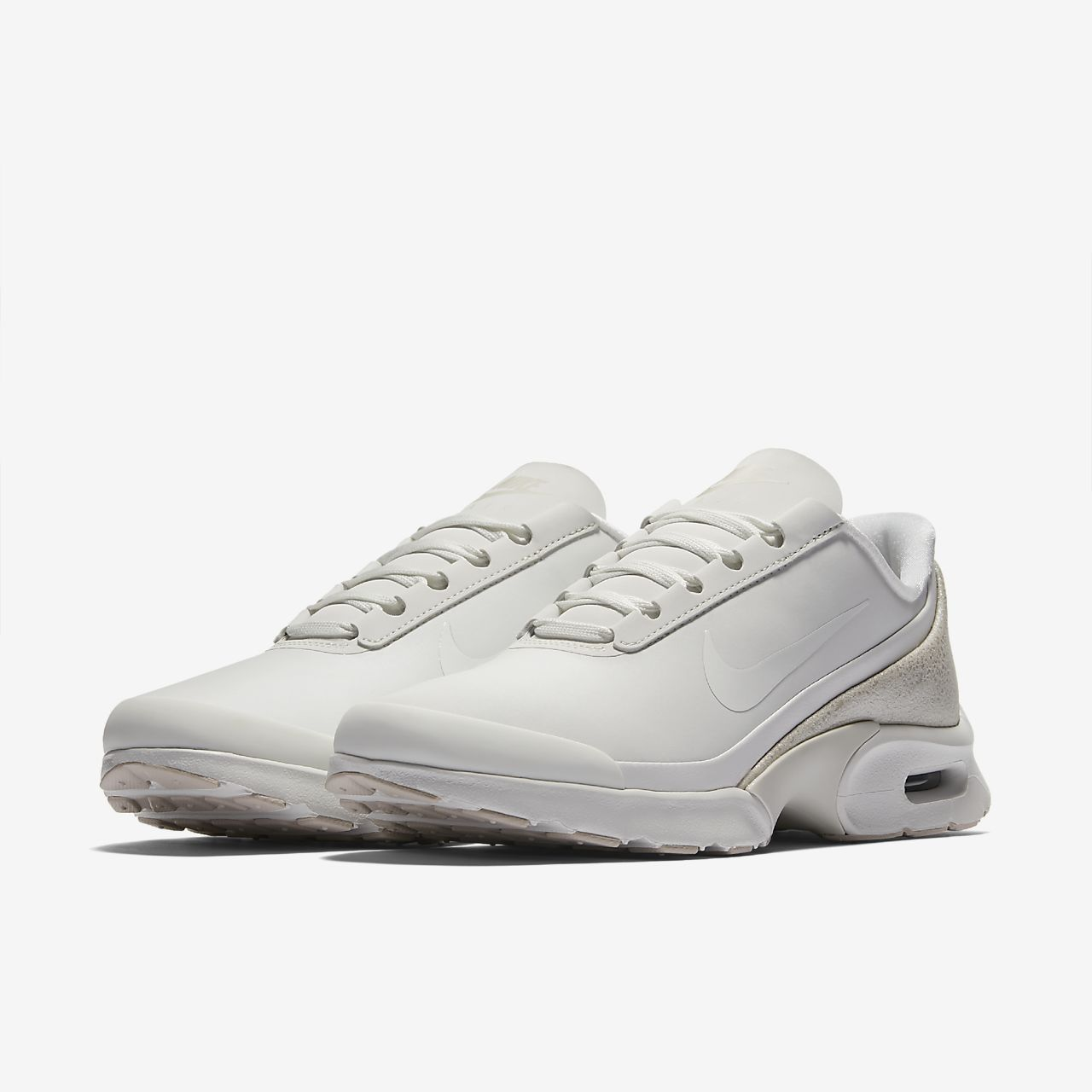 Nike Air Max Jewell Leather Women's Lifestyle Shoes White/Grey rM7379C