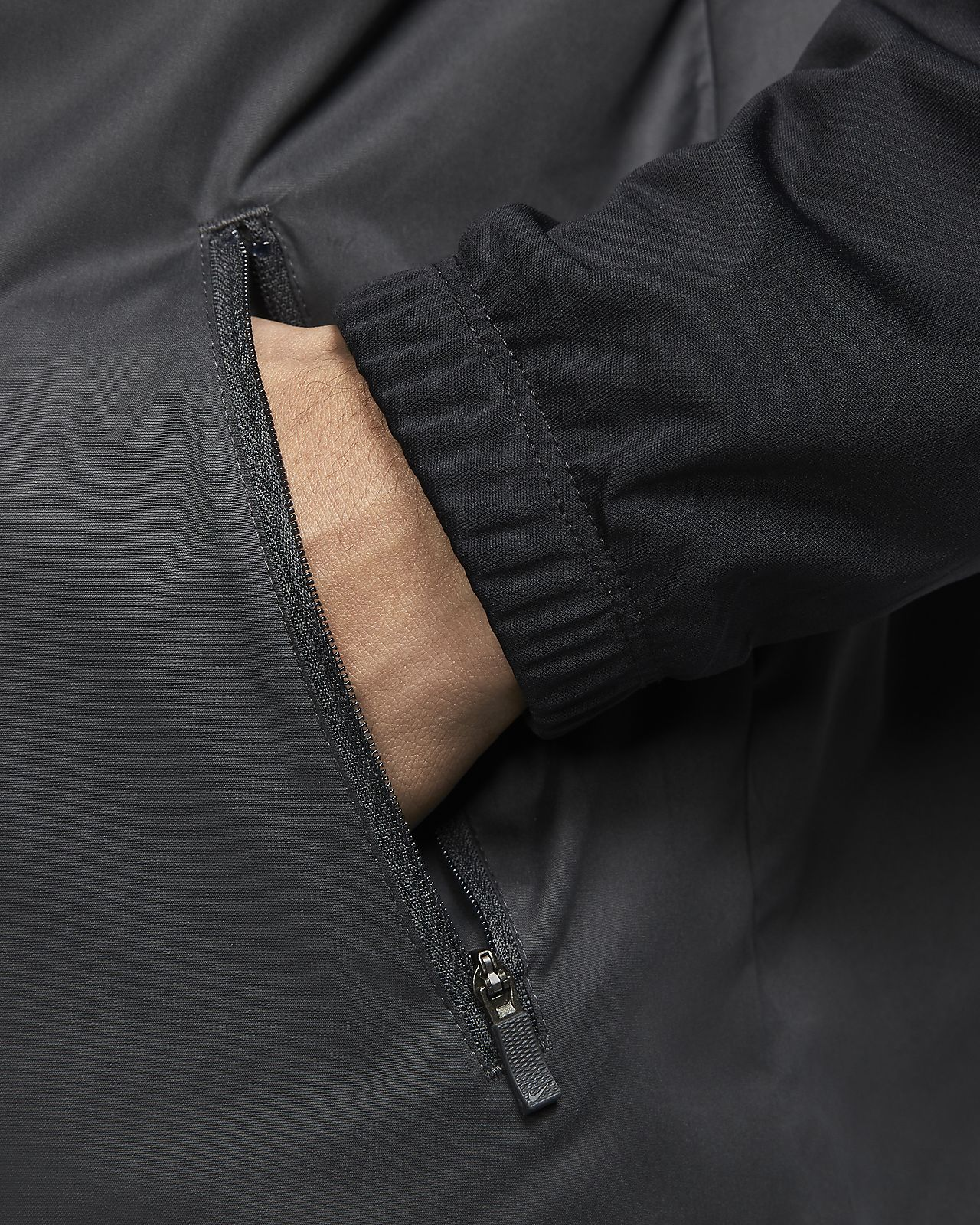Giacca da golf con zip a metà lunghezza Nike Shield Victory Uomo