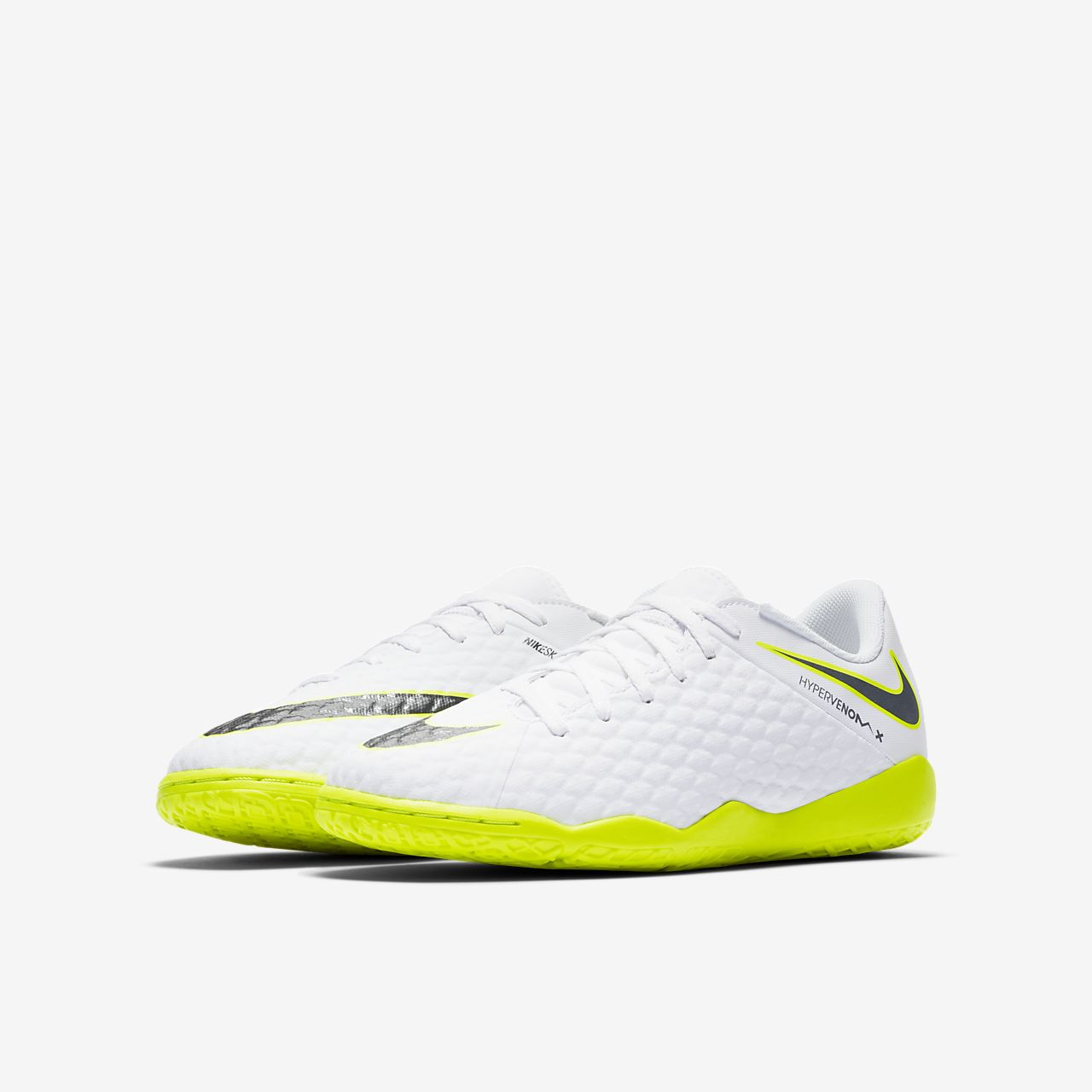 new concept eccfd 860d5 ... Nike Jr. HypervenomX Phantom III Academy Younger Older Kids   Indoor Court Football