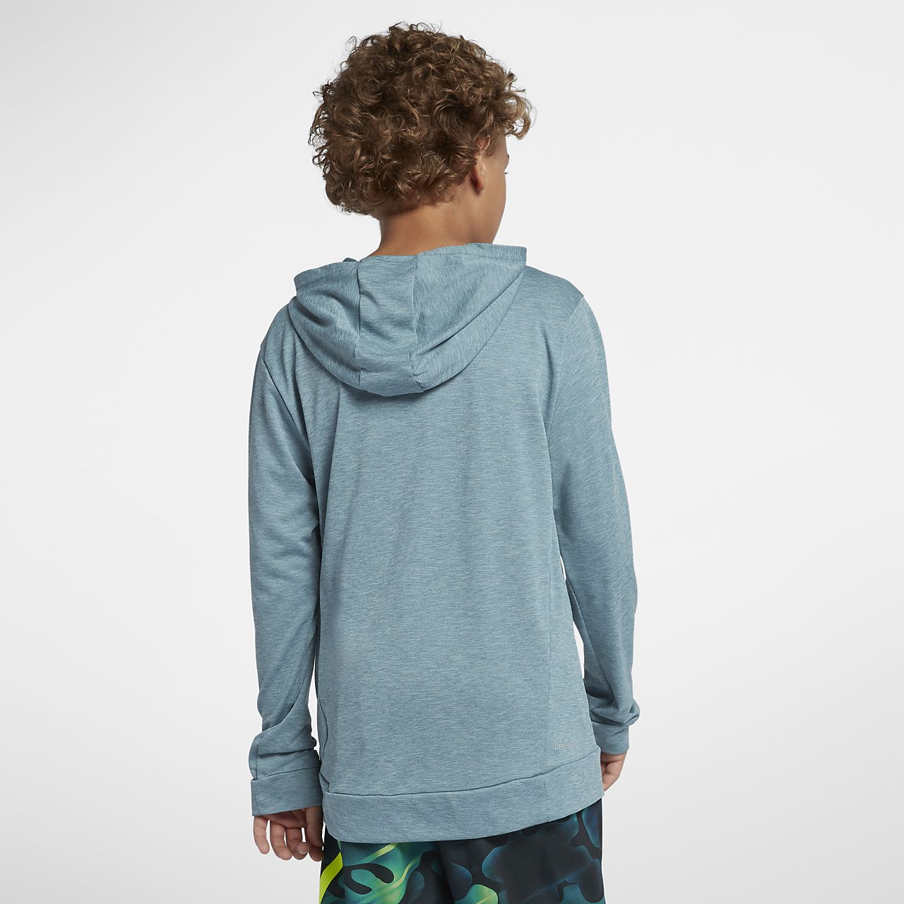 ac0845ab ... Nike Dri-FIT Breathe Big Kids' (Boys') Long Sleeve Training Top