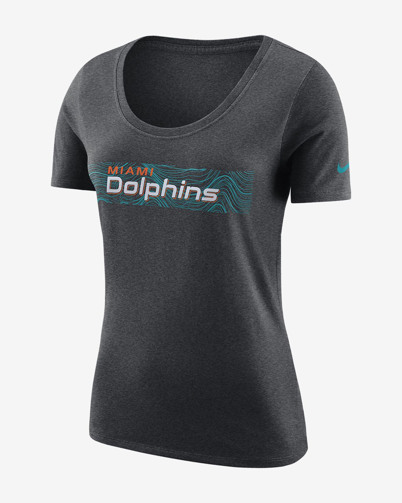 Женская футболка Nike Team (NFL Dolphins)