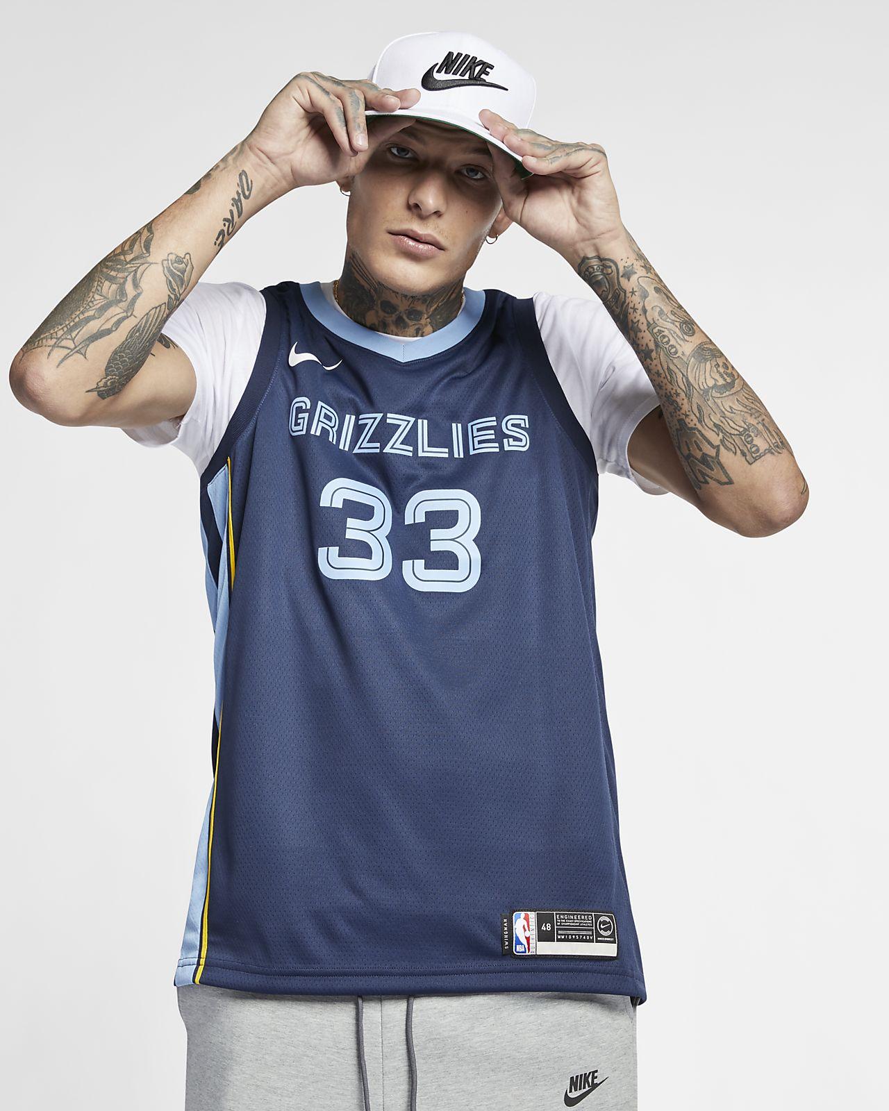 Marc Gasol Icon Edition Swingman (Memphis Grizzlies) Nike NBA Connected férfimez