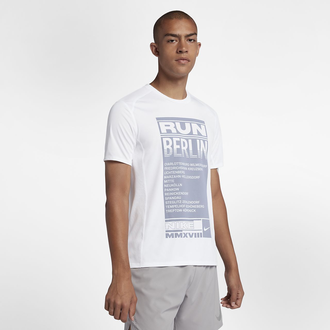 Nike Miler (Berlin 2018) Men's Short-Sleeve Running Top