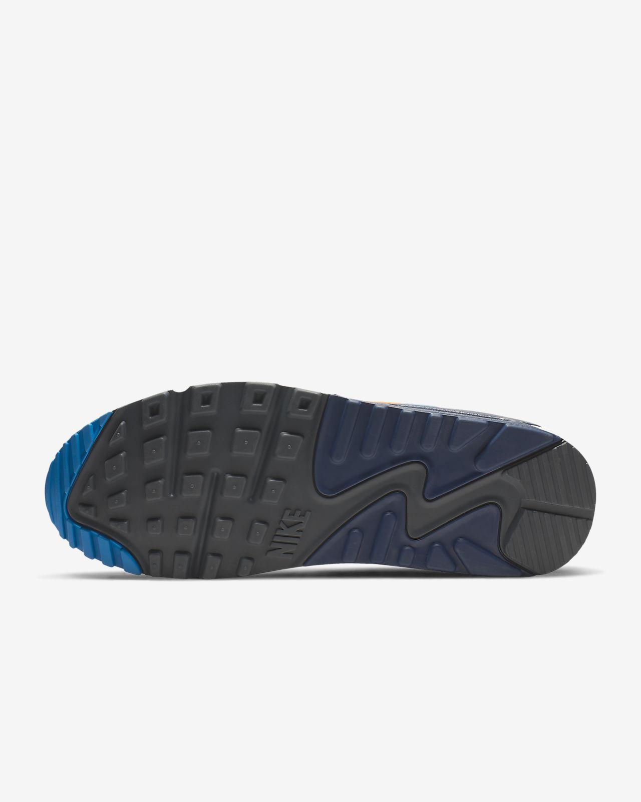 MENS NIKE AIR Max 90 Essential AJ1285 403 Trainers Navy Shoes