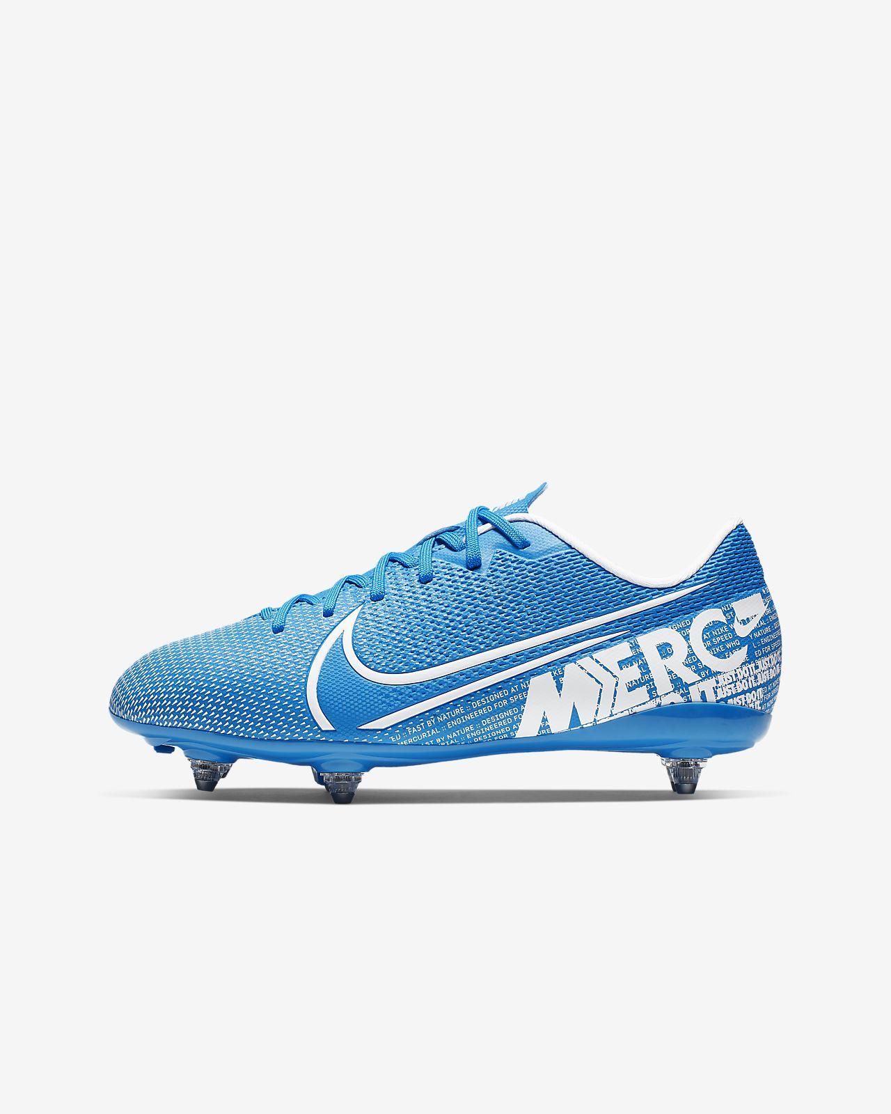 Nike Jr. Mercurial Vapor 13 Academy SG Kinder Fußballschuh für weichen Rasen