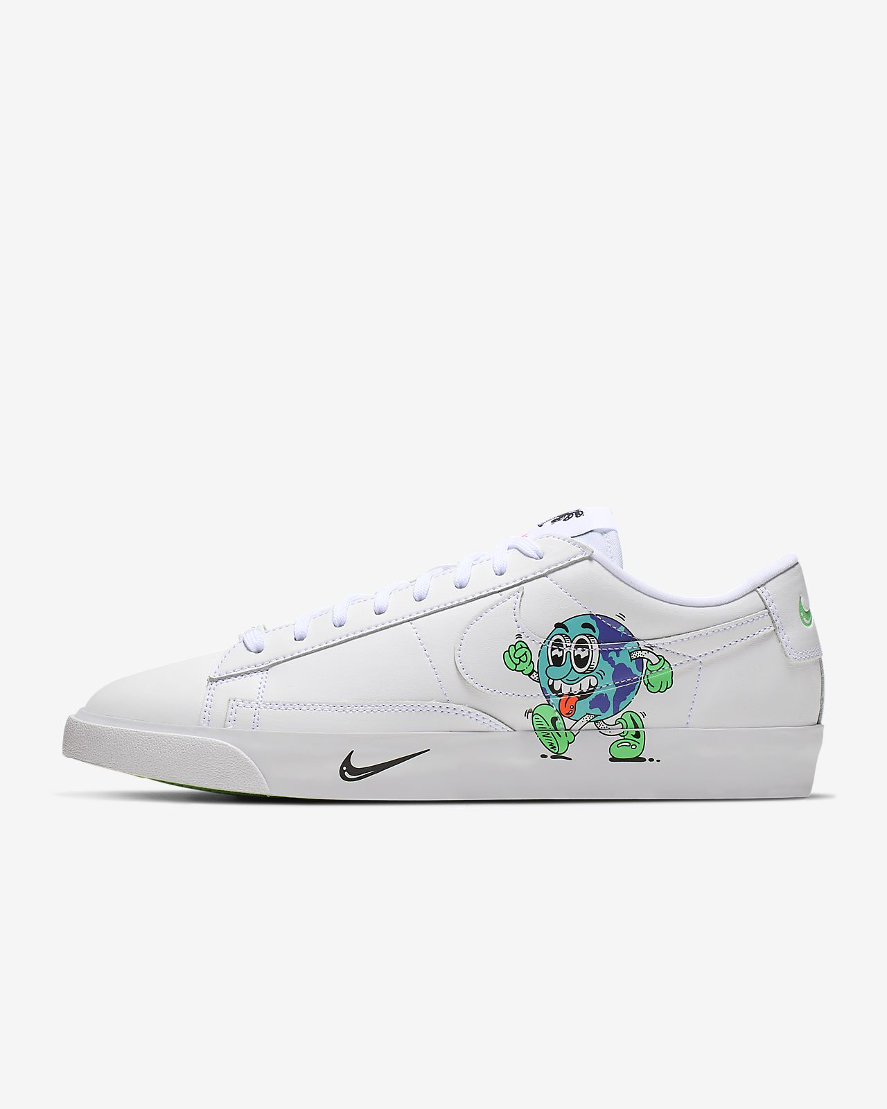 f1813aea5595 Men s Shoe. Nike Blazer Low QS Flyleather with at least 50% leather fibre