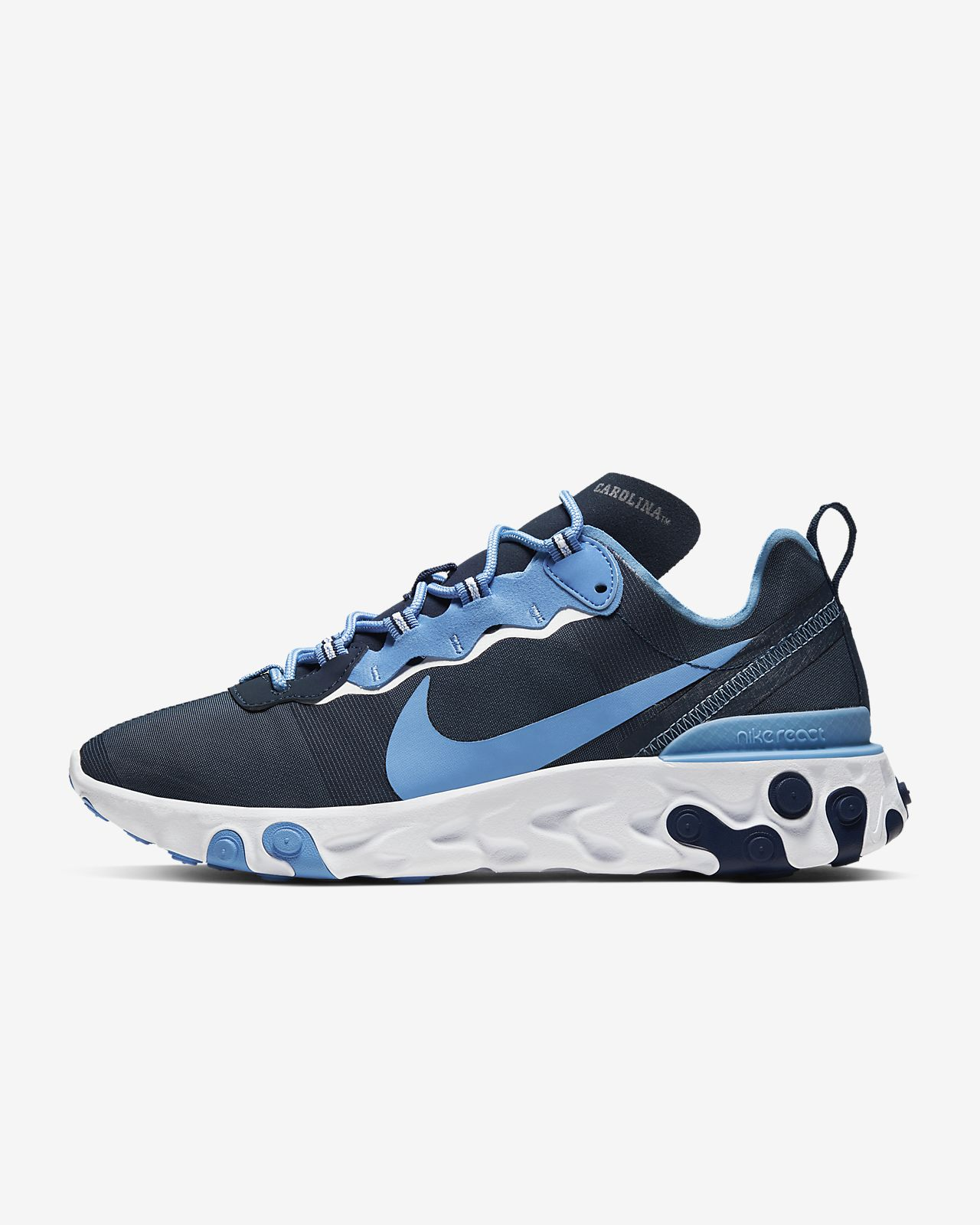 Nike React Element 55 (UNC) Men's Shoe