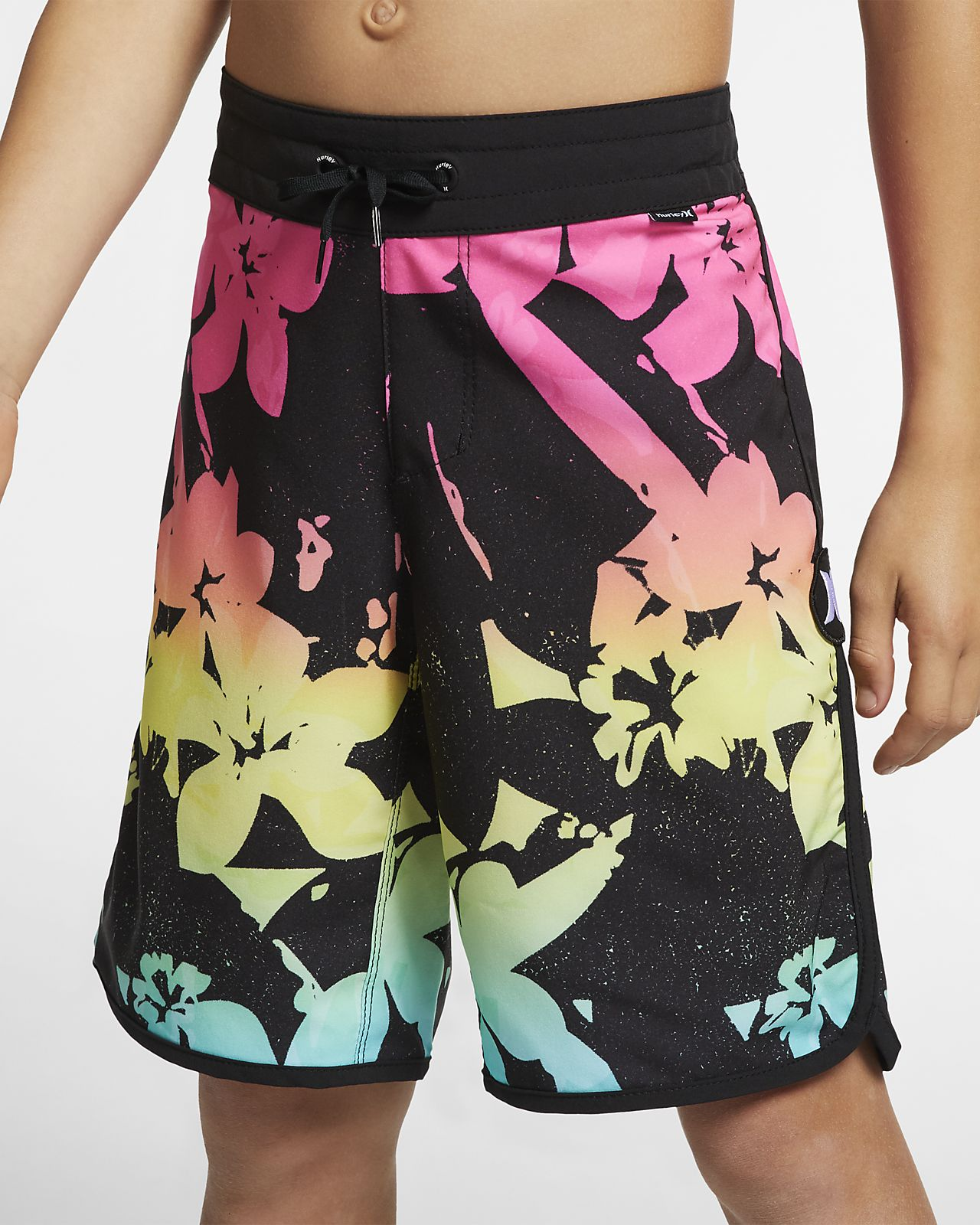 "Hurley Phantom Rainforest  Boys' 16"" Board Shorts"