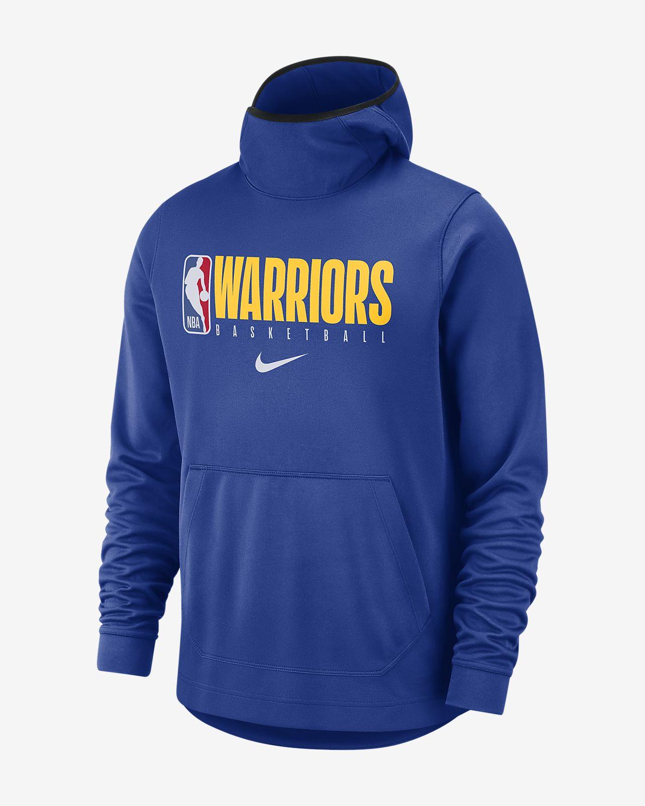 Sweat à capuche NBA Golden State Warriors Nike Spotlight pour Homme