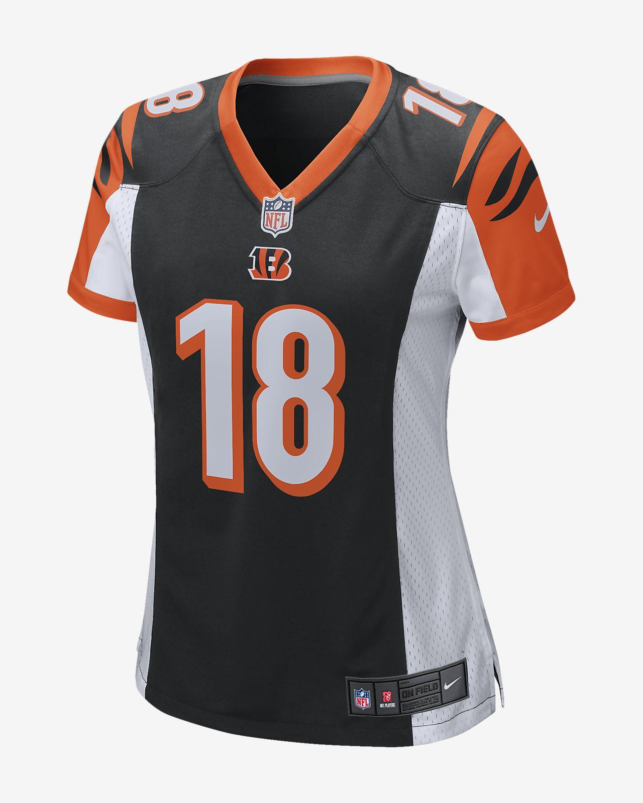 62fe6ec62c9 ... NFL Cincinnati Bengals Game Jersey (AJ Green) Women's Football Jersey