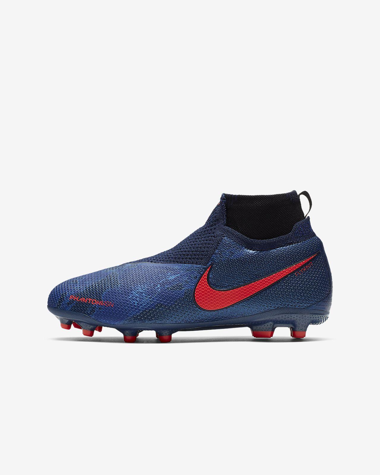 new product 9940f 577af ... Nike Jr. PhantomVSN Elite Dynamic Fit MG Big Kids Multi-Ground Soccer  Cleat