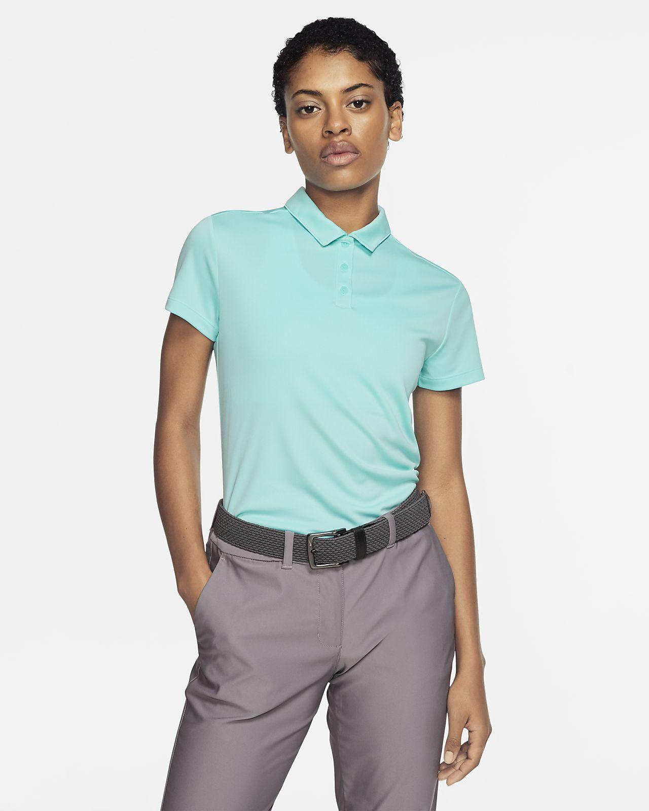 Nike Dri-FIT golfskjorte til dame