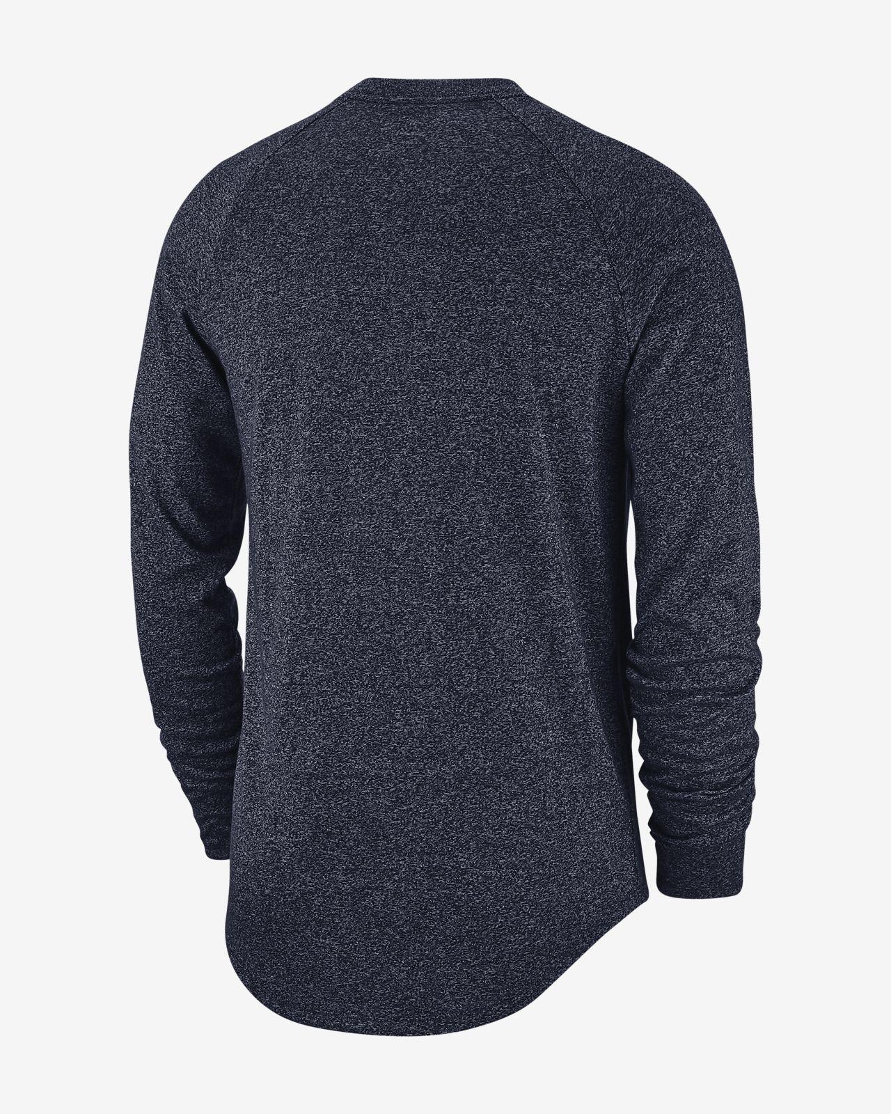 new arrival d8ab3 fb9a0 Nike Historic (NFL Giants) Men's Long-Sleeve T-Shirt