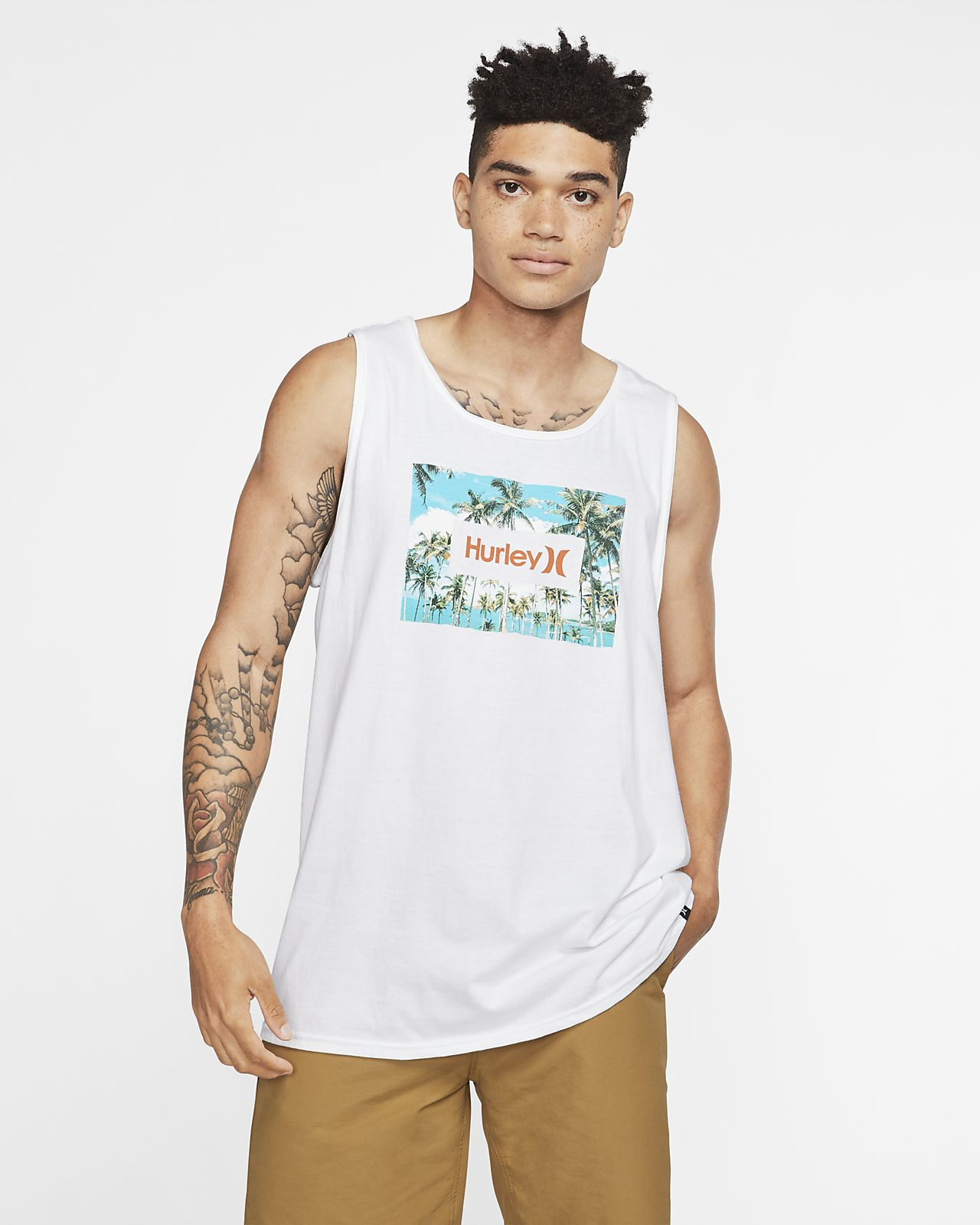 Hurley Premium Boarders Men's Premium Fit Tank