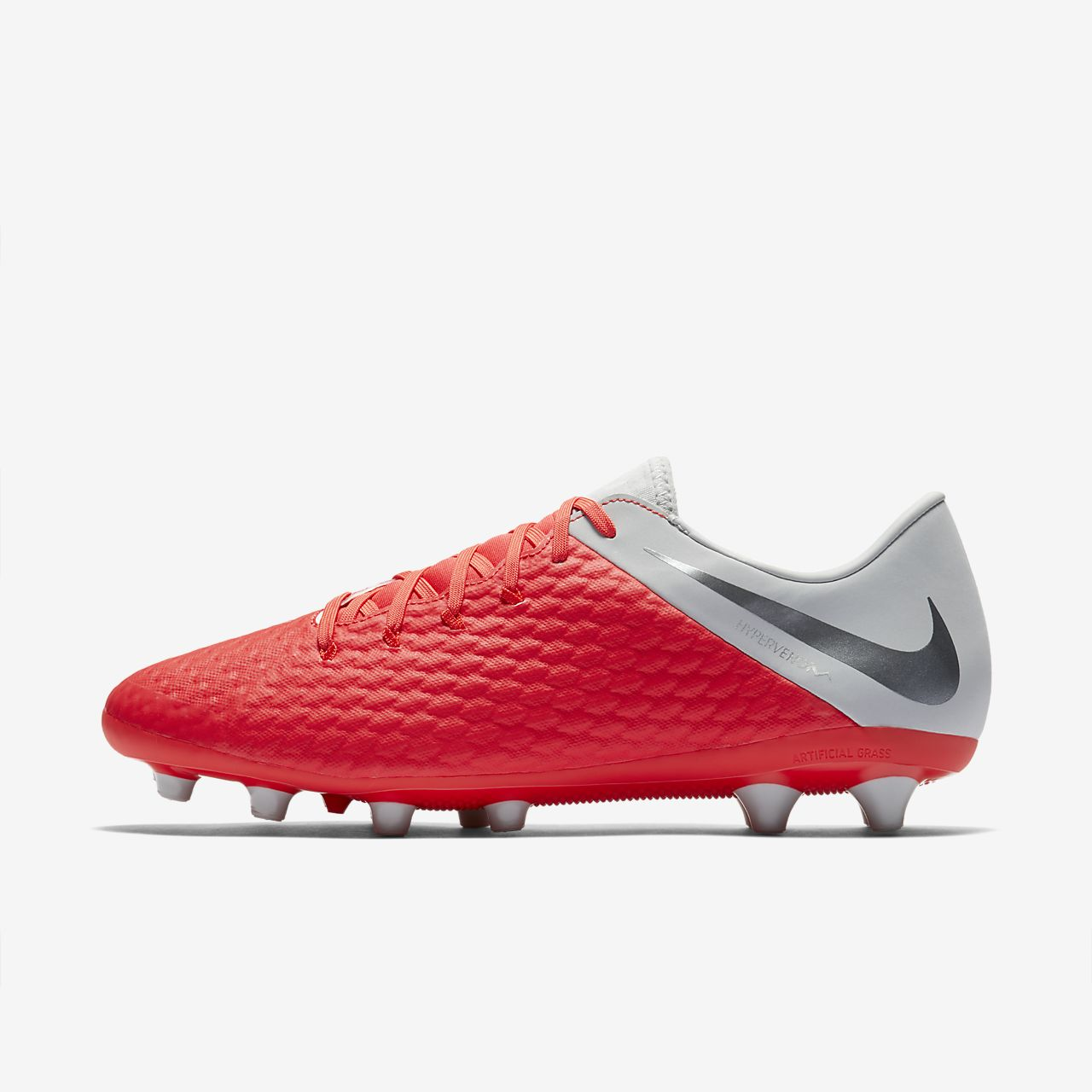89dd1f187fb5 Nike Hypervenom III Academy AG-PRO Artificial-Grass Football Boot ...