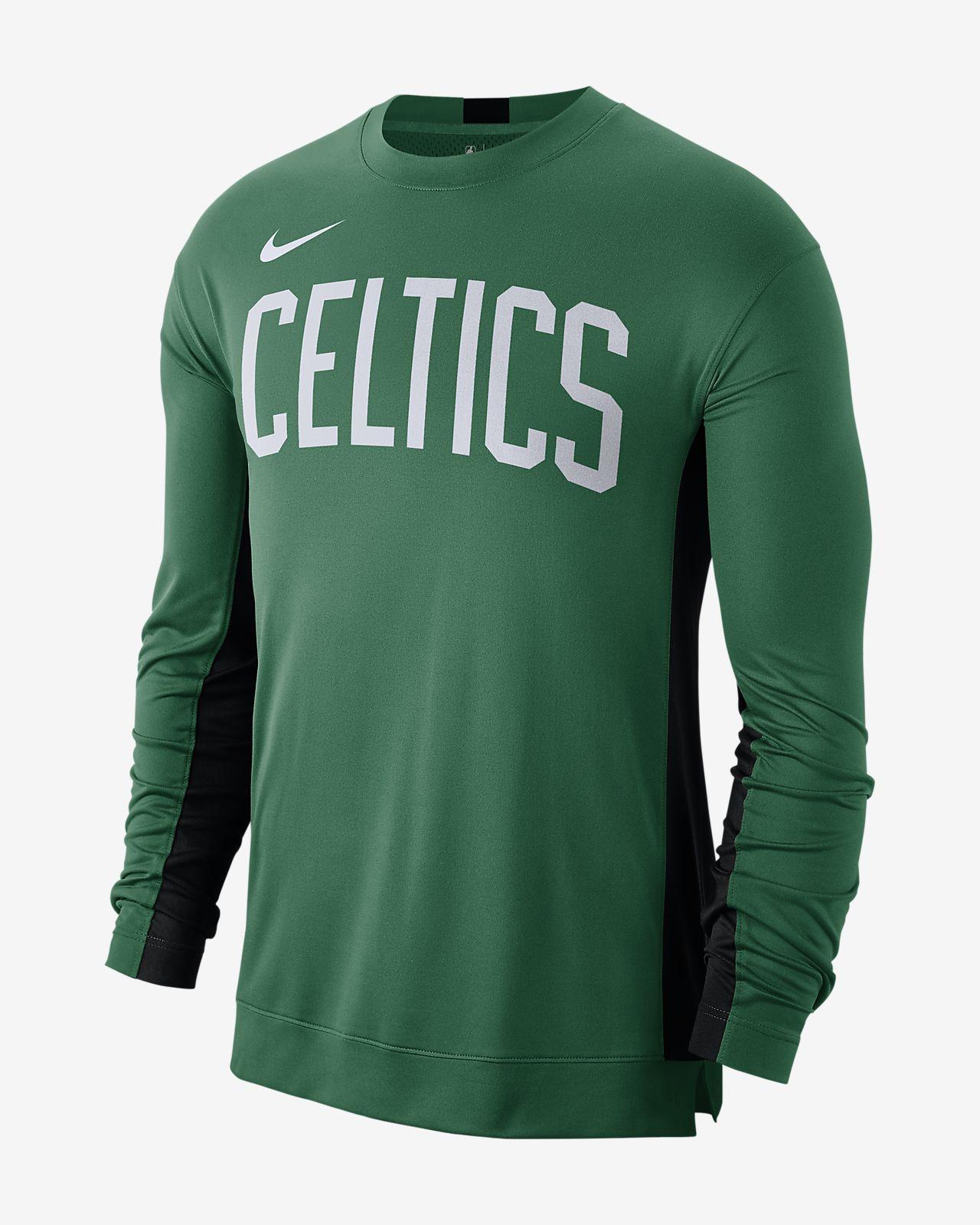 Playera para prácticas de la NBA para hombre Boston Celtics Nike Dri-FIT