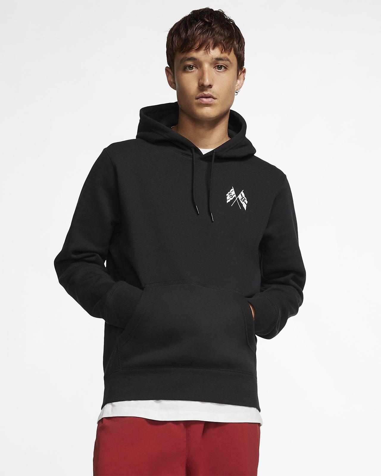 sale retailer 98d4e 2380a Felpa pullover da skateboard a manica lunga con cappuccio Nike SB - Uomo