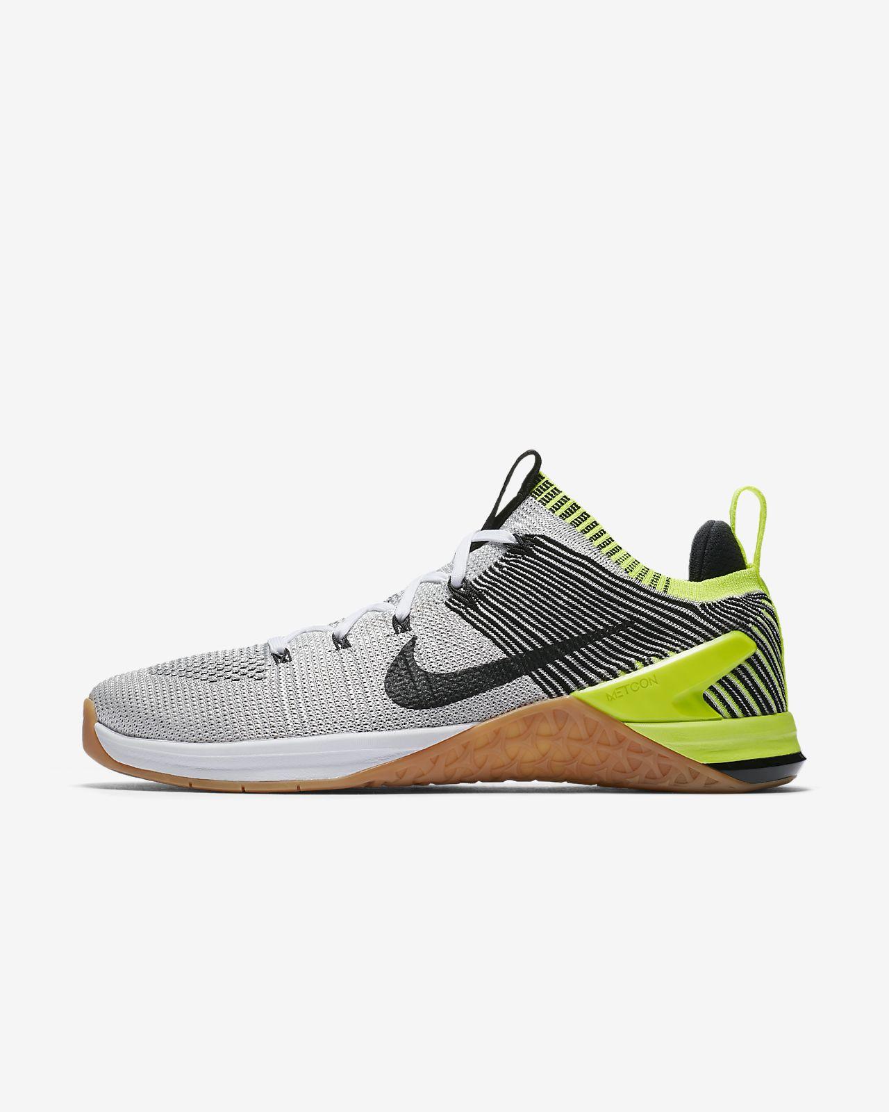 Metcon 3 Texturé À Mailles Et Chaussures De Sport Caoutchouc - Nike Bleu Ciel g8bGd
