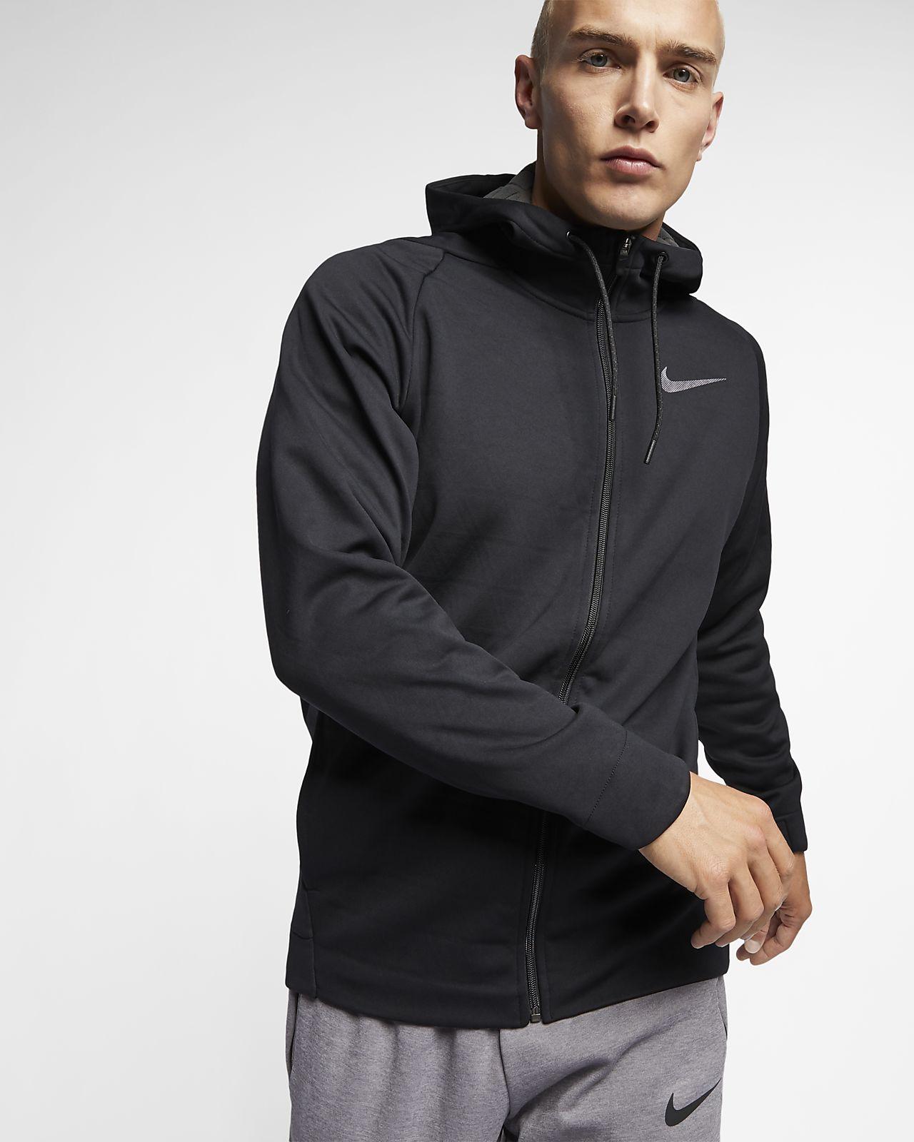 Nike Therma Men's Hooded Full Zip Training Jacket