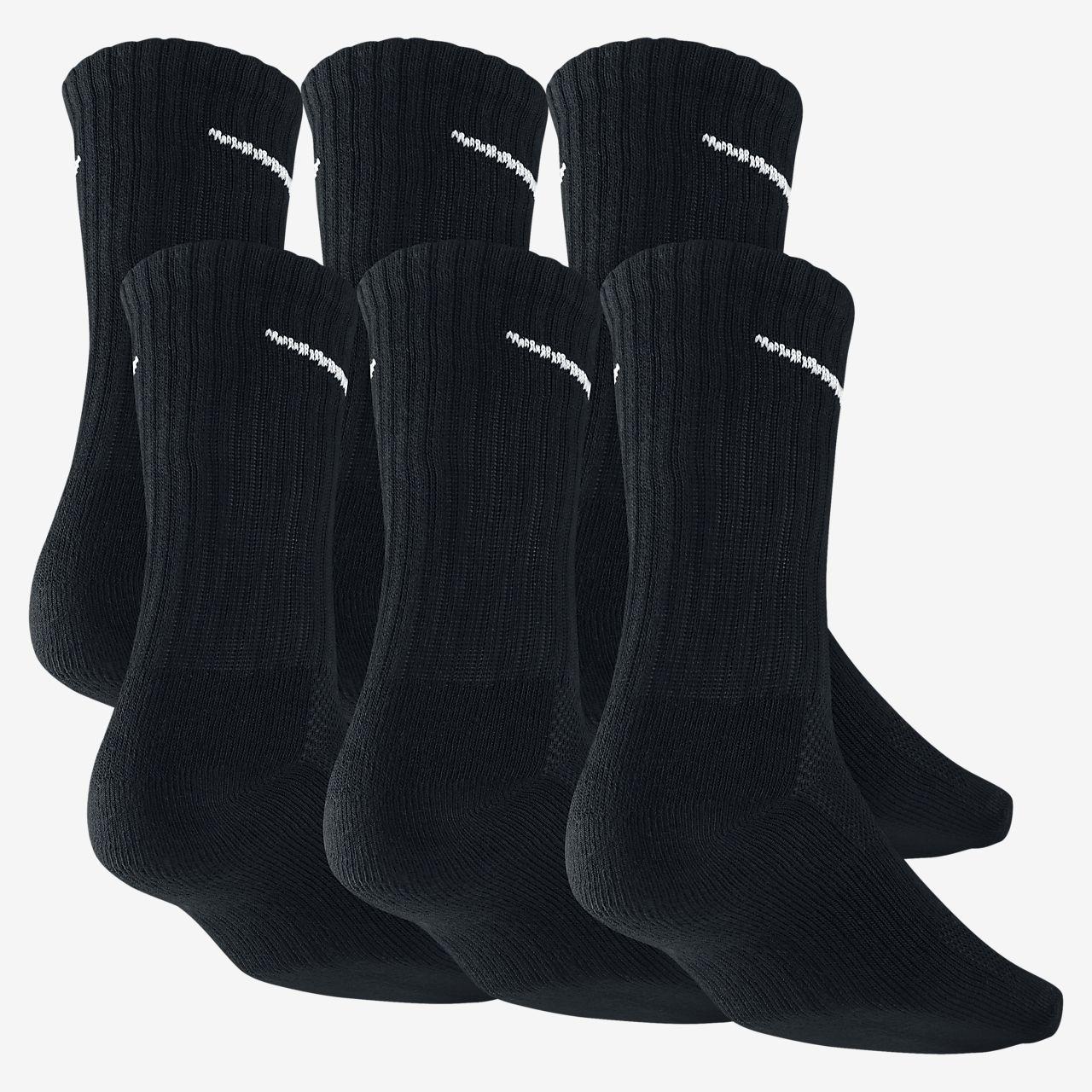 vente boutique Nike Dri-fit Chaussettes De L'équipage Mens Rembourrés - 6 Paires De Jordans remises en vente autorisation de sortie sortie 2015 v9xzF1
