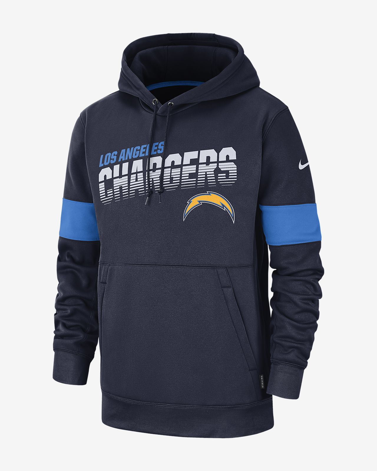 huge discount 519f4 5e3a3 Nike Therma (NFL Chargers) Men's Hoodie