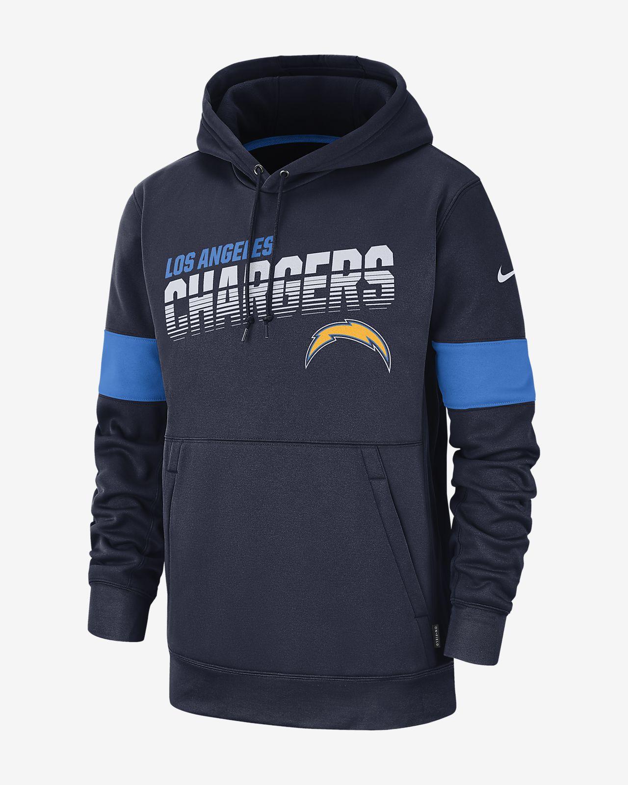 huge discount 86697 2fbd7 Nike Therma (NFL Chargers) Men's Hoodie
