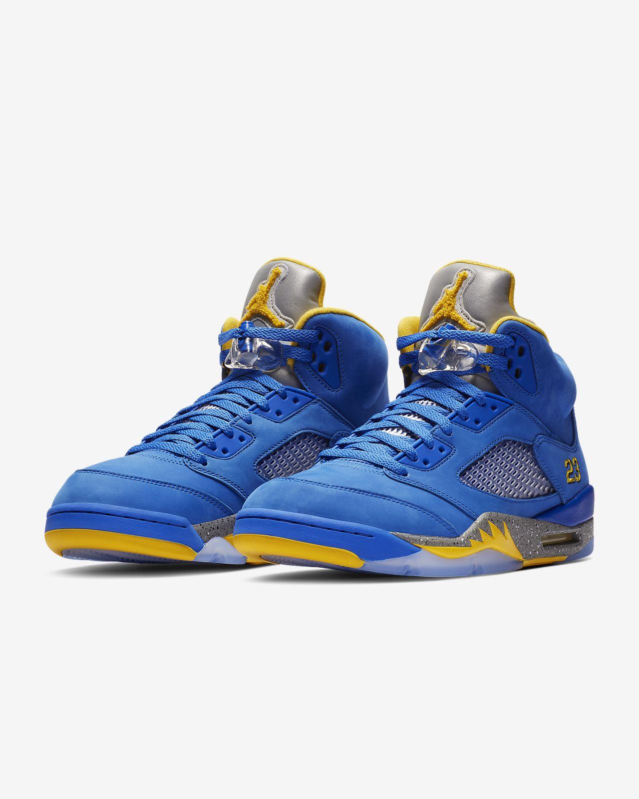 new style 18ae2 5d89c ... Chaussure Air Jordan 5 Laney JSP pour Homme