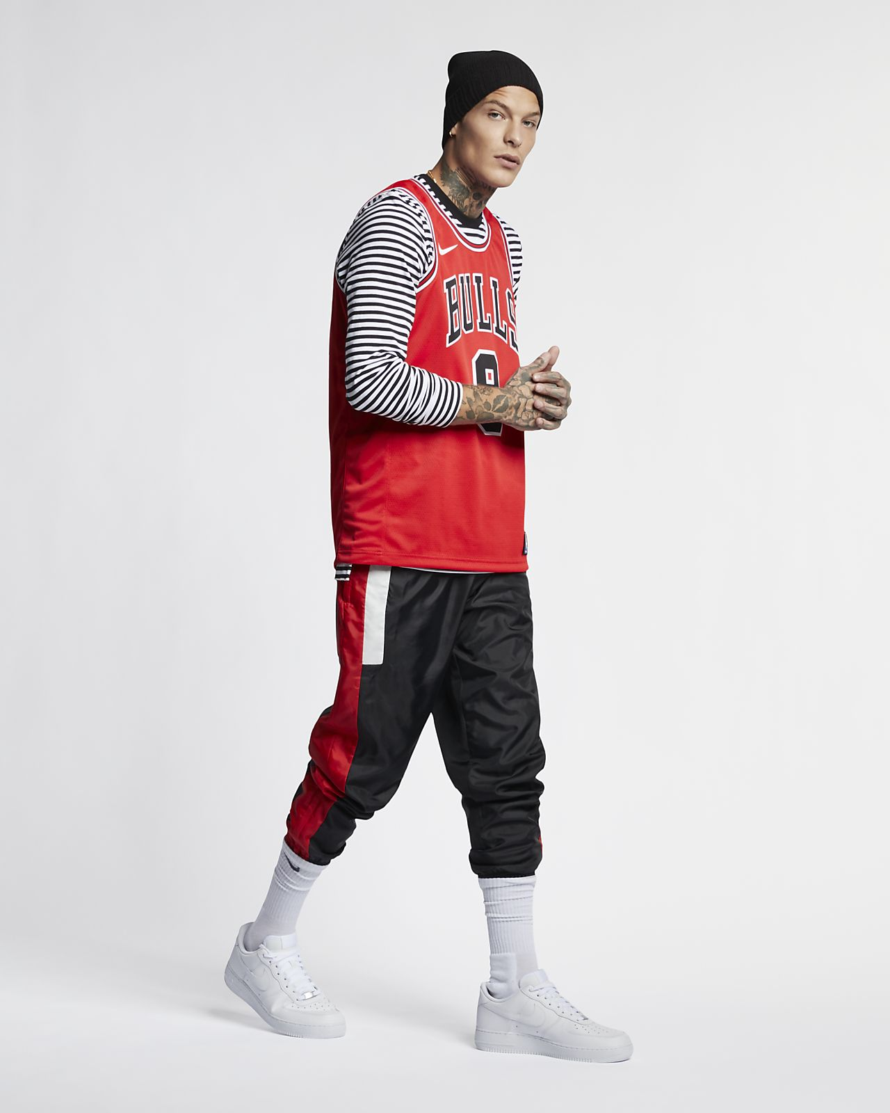 เสื้อแข่ง Nike NBA Swingman ผู้ชาย Zach LaVine Bulls Icon Edition