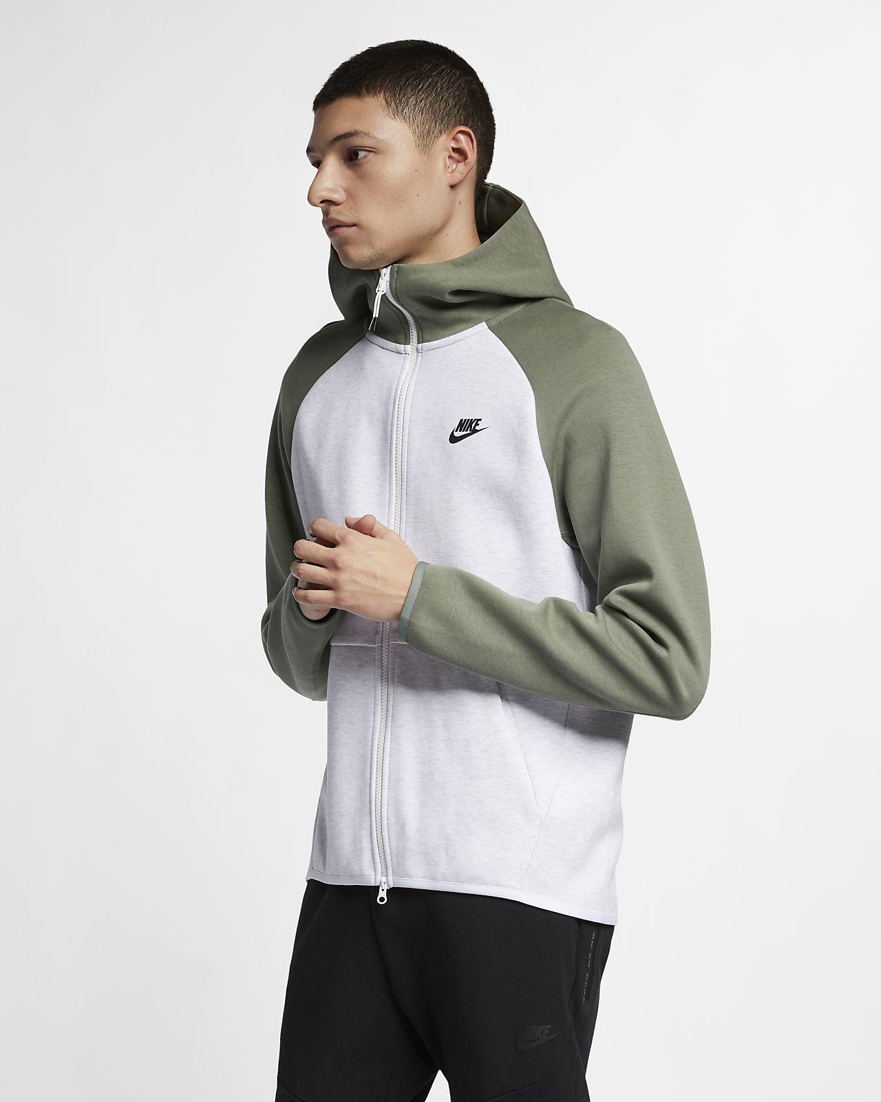 1420d328 ... Мужская худи с молнией во всю длину Nike Sportswear Tech Fleece