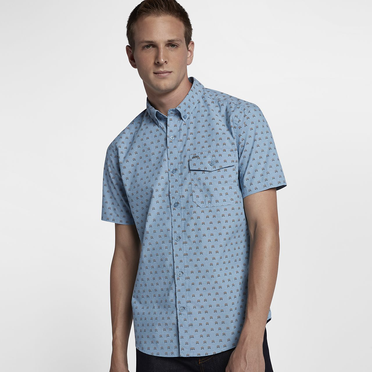 Hurley Brooks Men's Short Sleeve Shirt. Nike.com