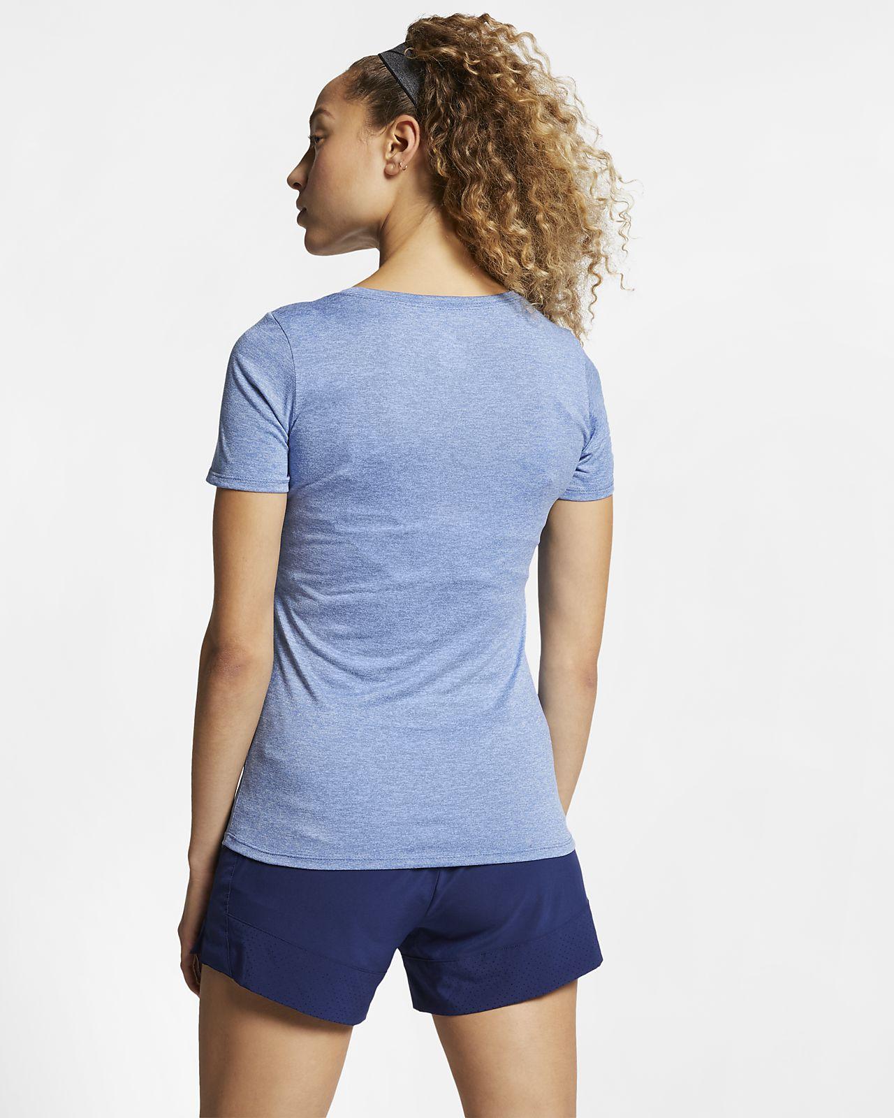 4c2e64bd4a27 Nike Dry Women s Training T-Shirt. Nike.com