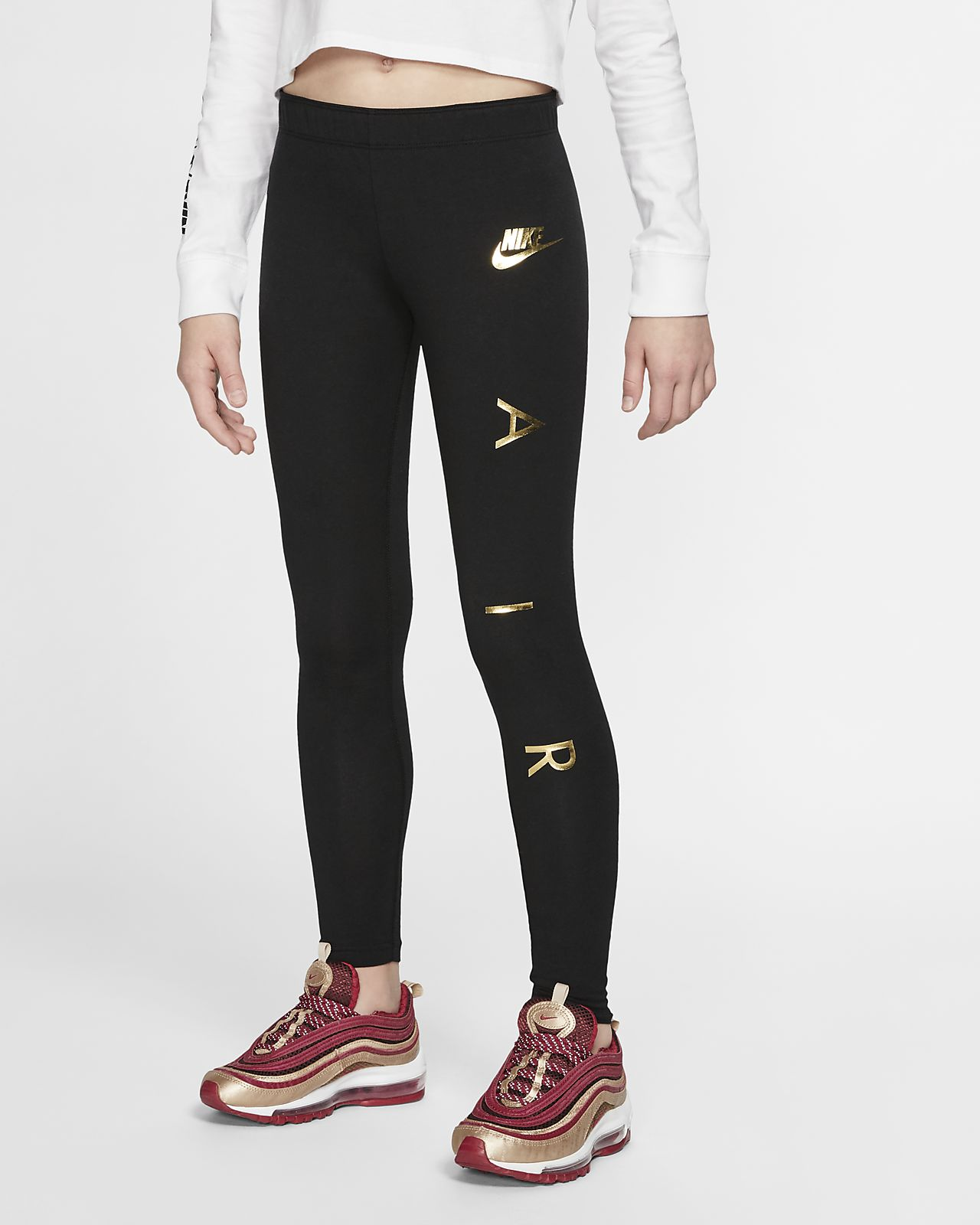 Nike Air大童(女孩)紧身裤