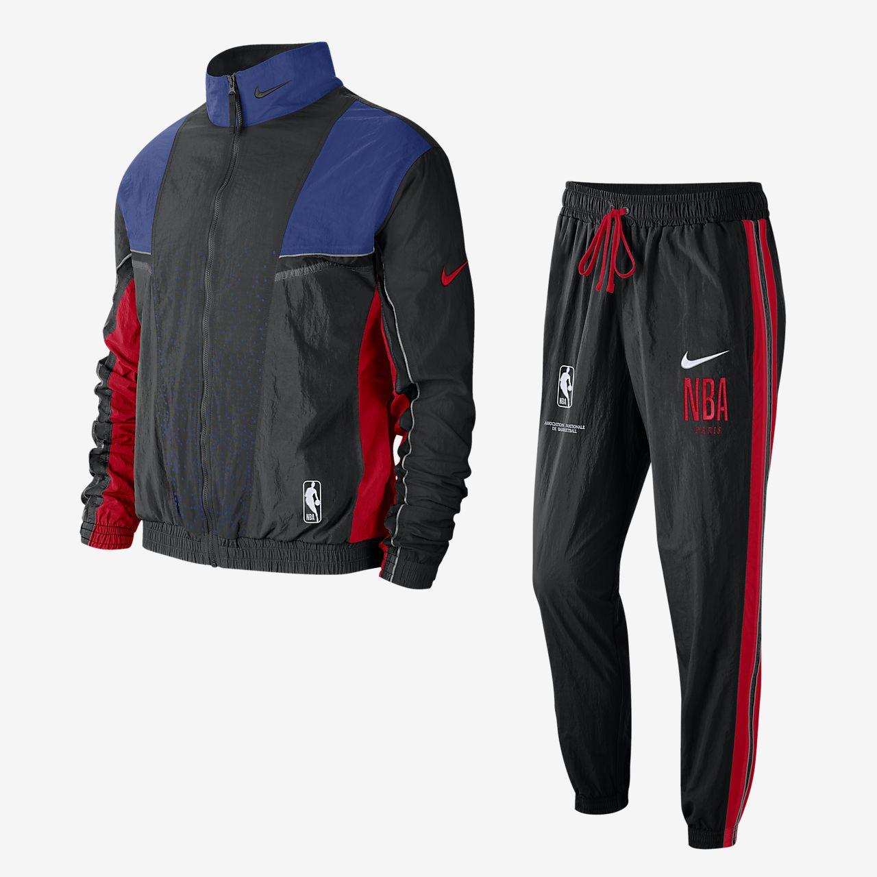 """Nike Courtside """"Paris"""" NBA-Trainingsanzug für Herren"""