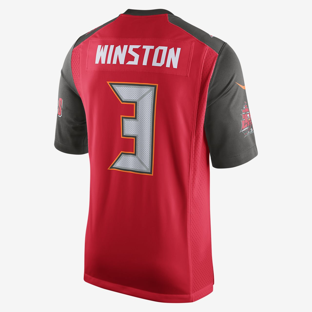 f72397ab214 NFL Tampa Bay Buccaneers (Jameis Winston) Men s Football Home Game ...