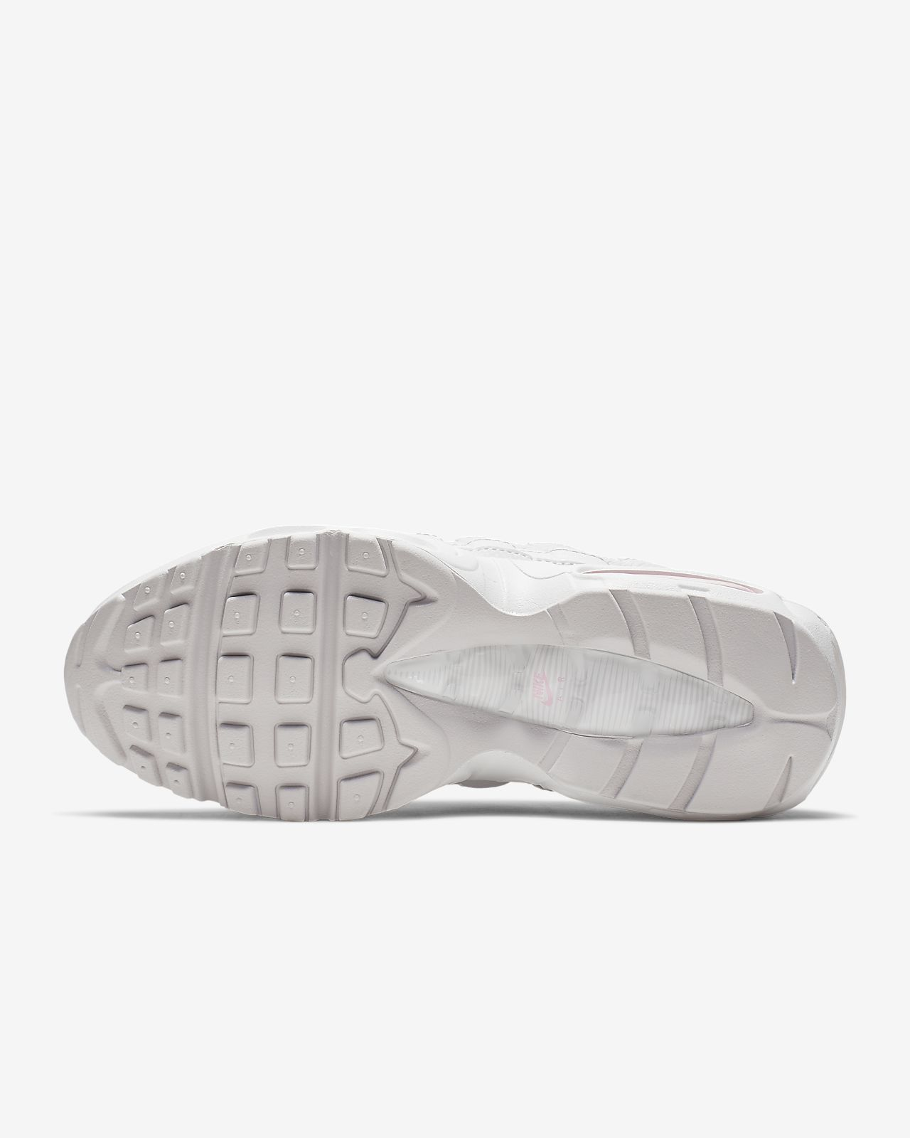 """Women Top Deals WMNS Nike Air Max 95 SE """"Triple White"""" AQ4138 100"""