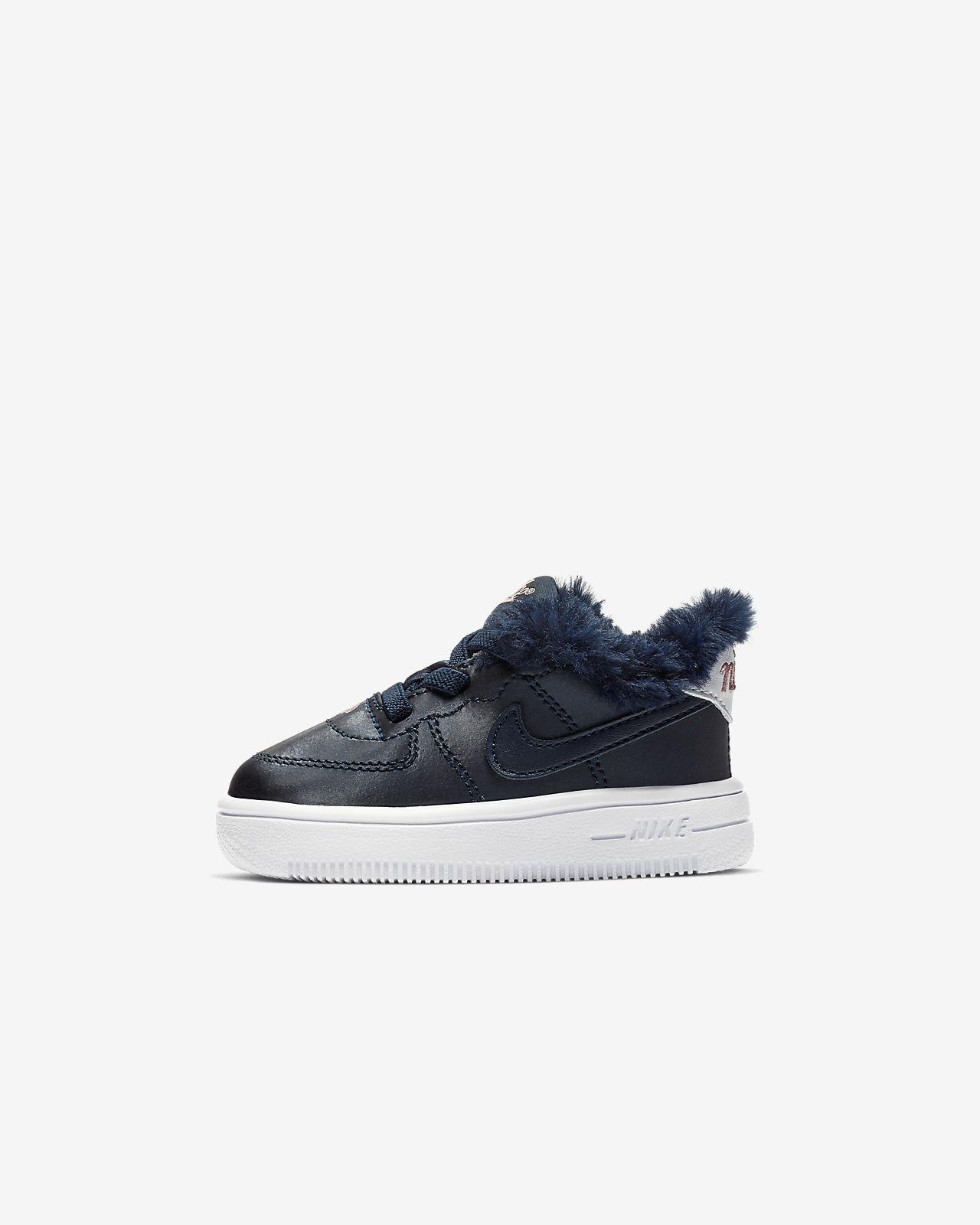 Nike Force 1 VDAY Schuh für Babys und Kleinkinder