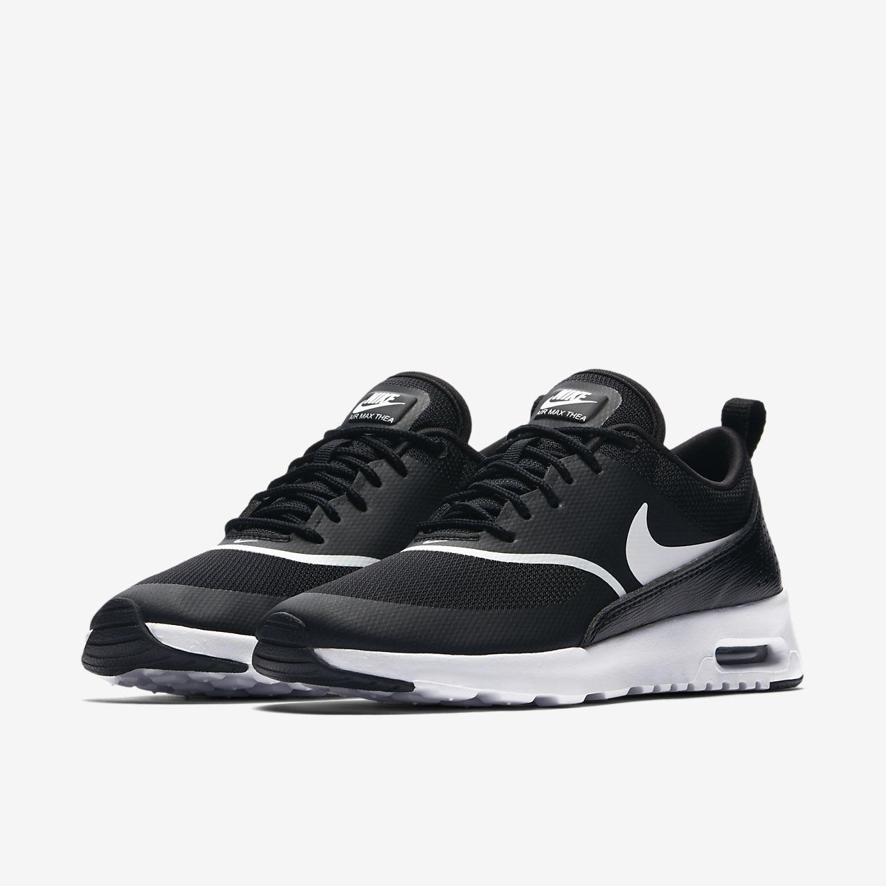 new products 1b380 e2e8a scarpa nike air max thea nerobianco 599409-028