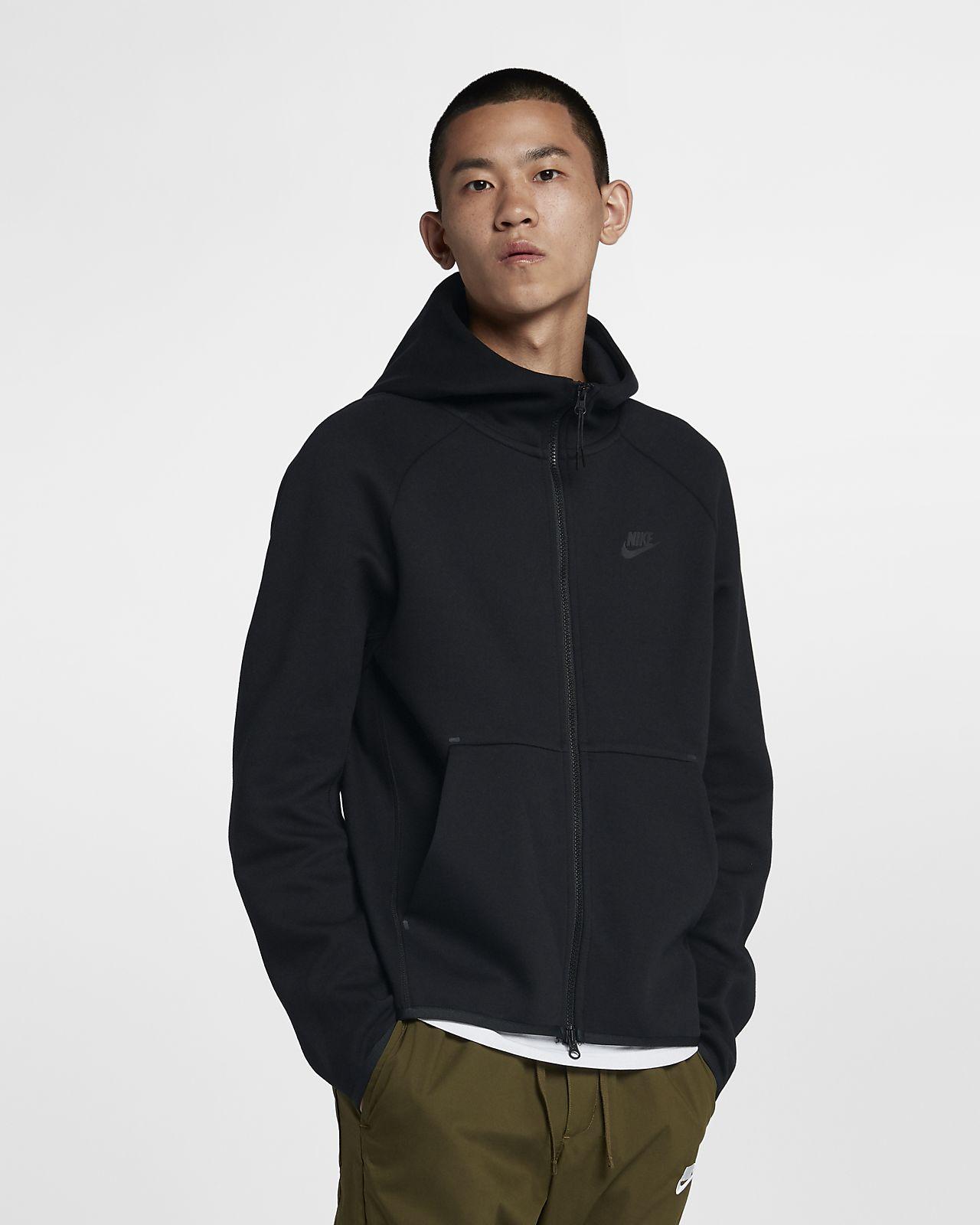 Nike Sportswear Tech Fleece 男款全長式拉鍊連帽上衣