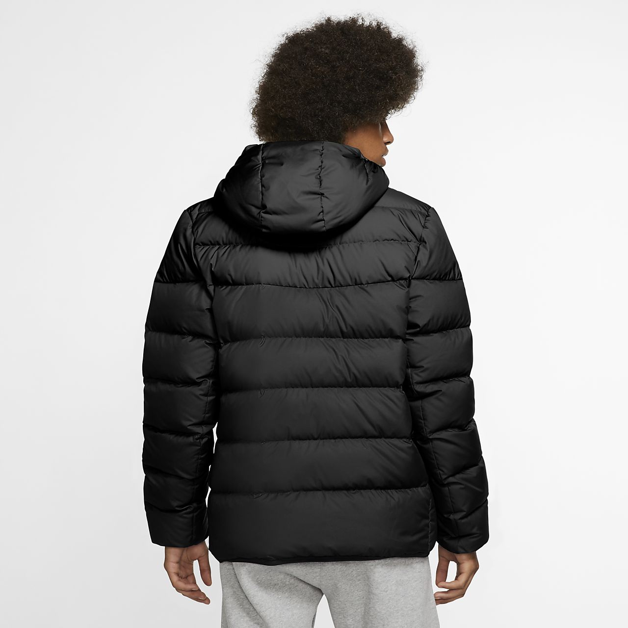 c96706739 Nike Sportswear Windrunner Down-Fill Men's Hooded Jacket