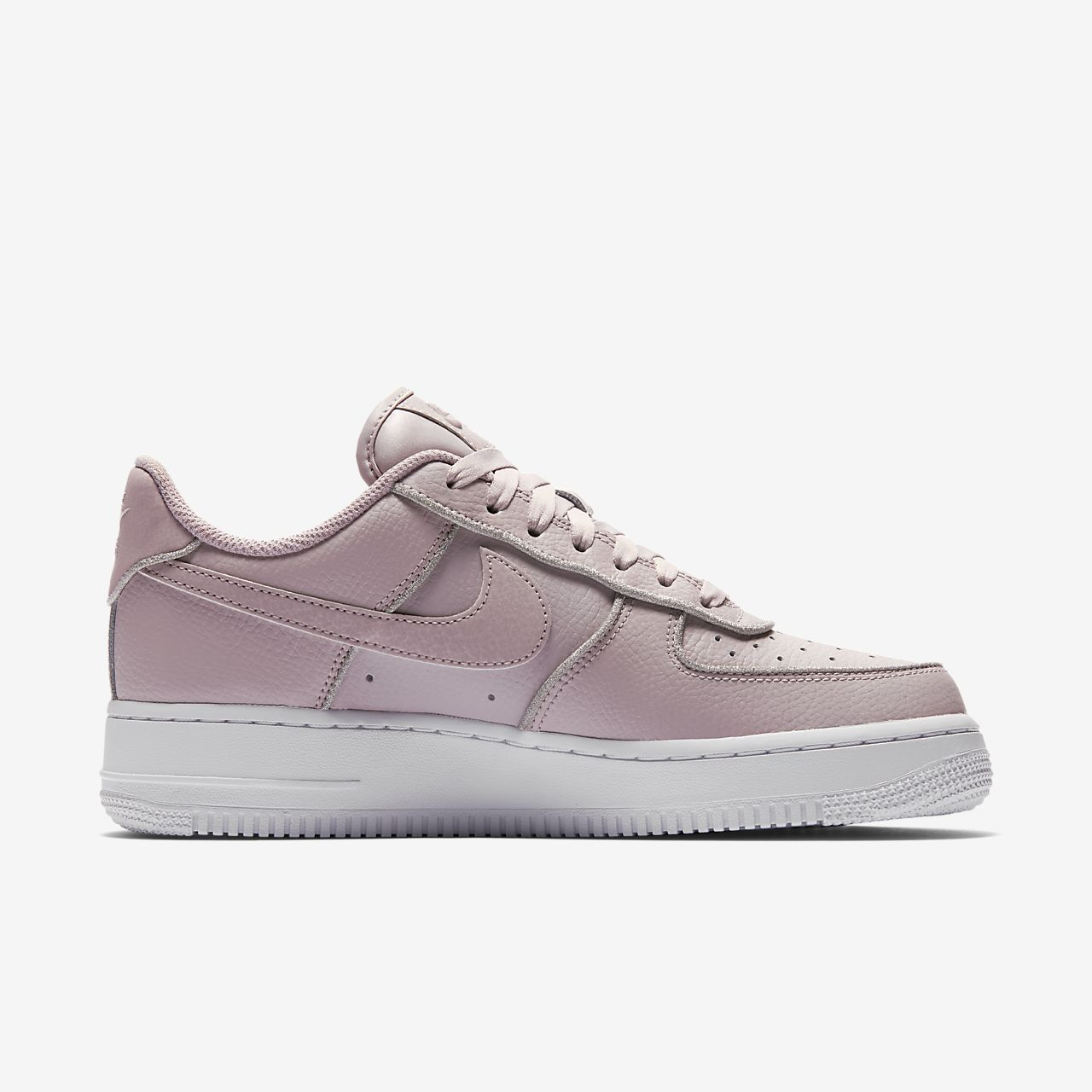 scarpa nike air force 1 low glitter particle rosebianco