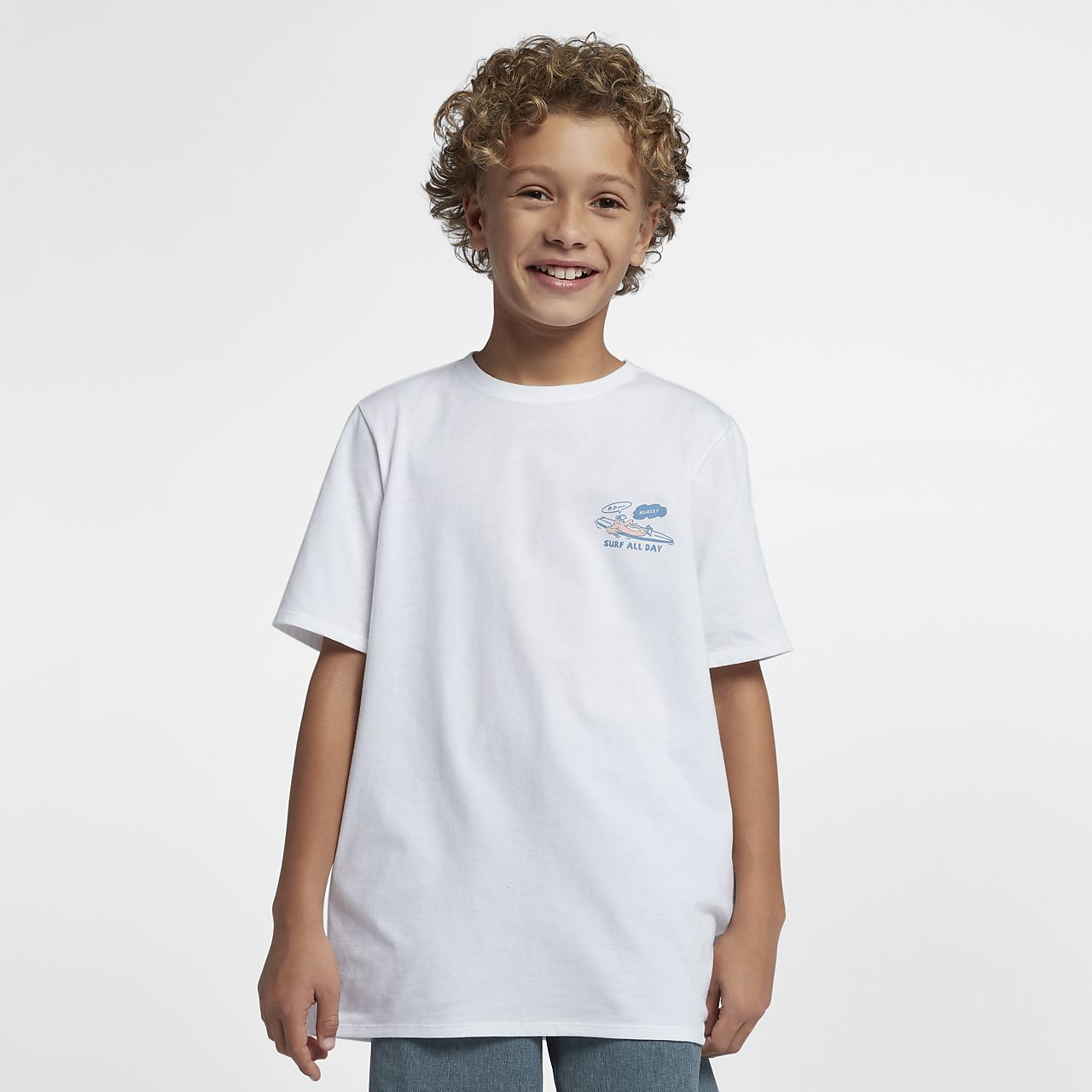 Playera para niño Hurley Surf All Day