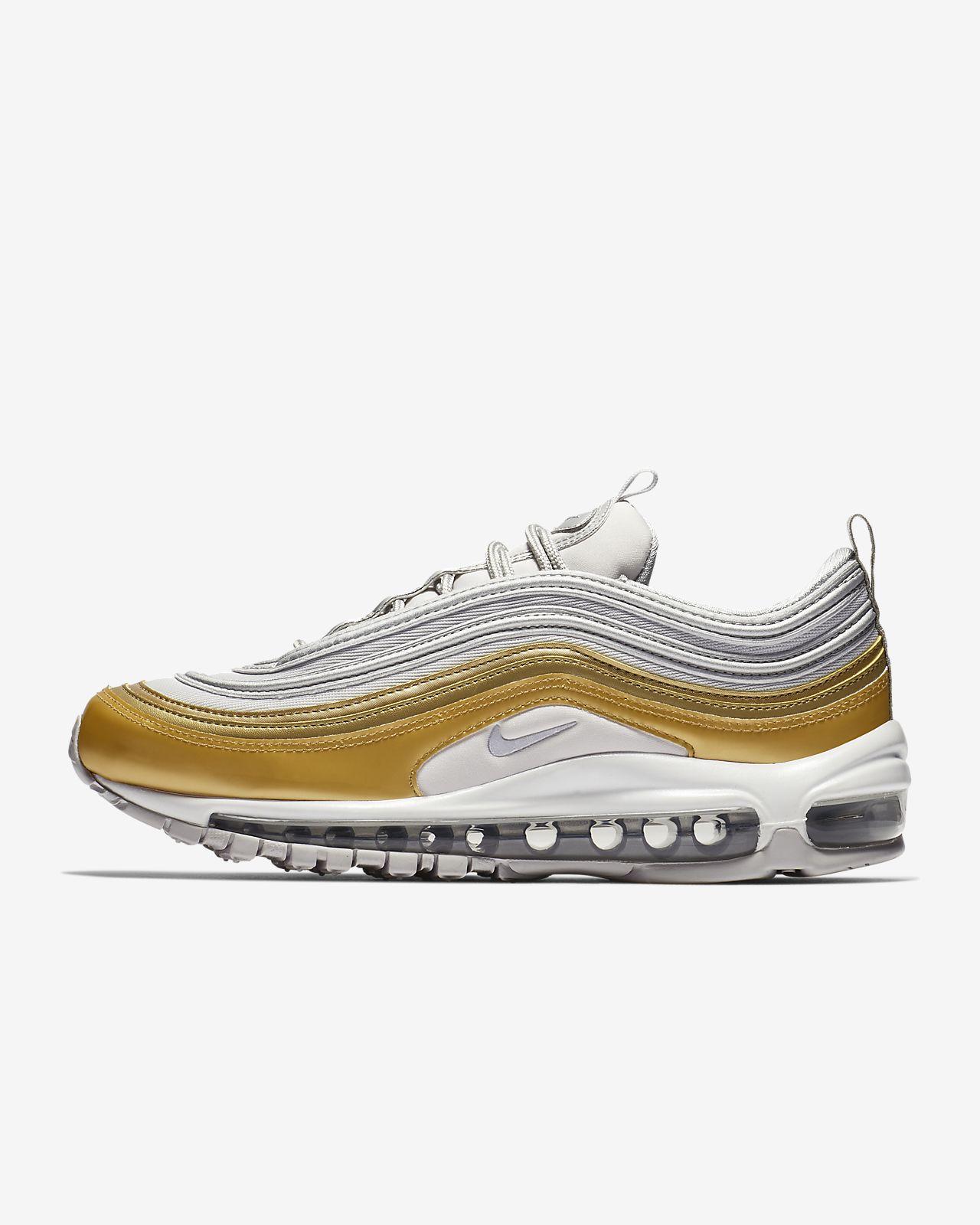 256f5a81d8b4fb Nike Air Max 97 SE Metallic Women s Shoe