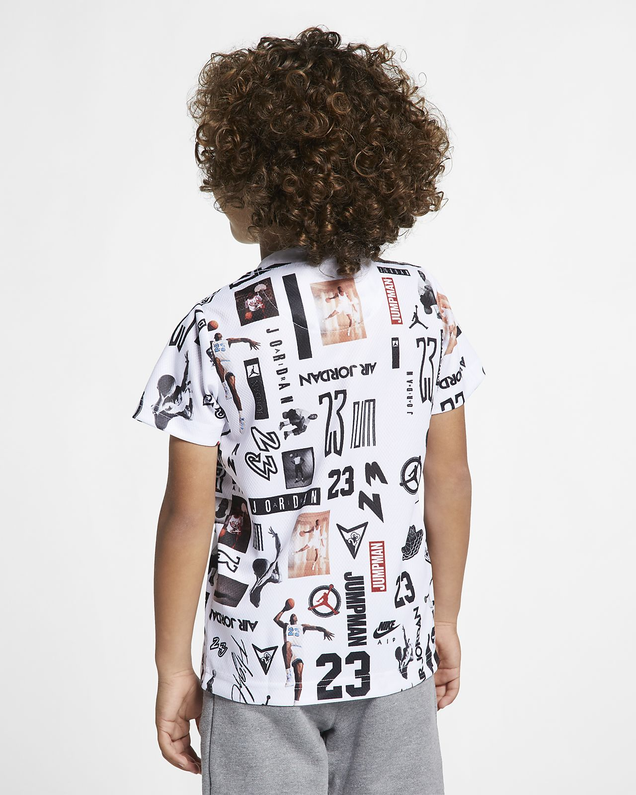 8eba36f9fd6 Jordan Sportswear Little Kids' Mesh T-Shirt. Nike.com