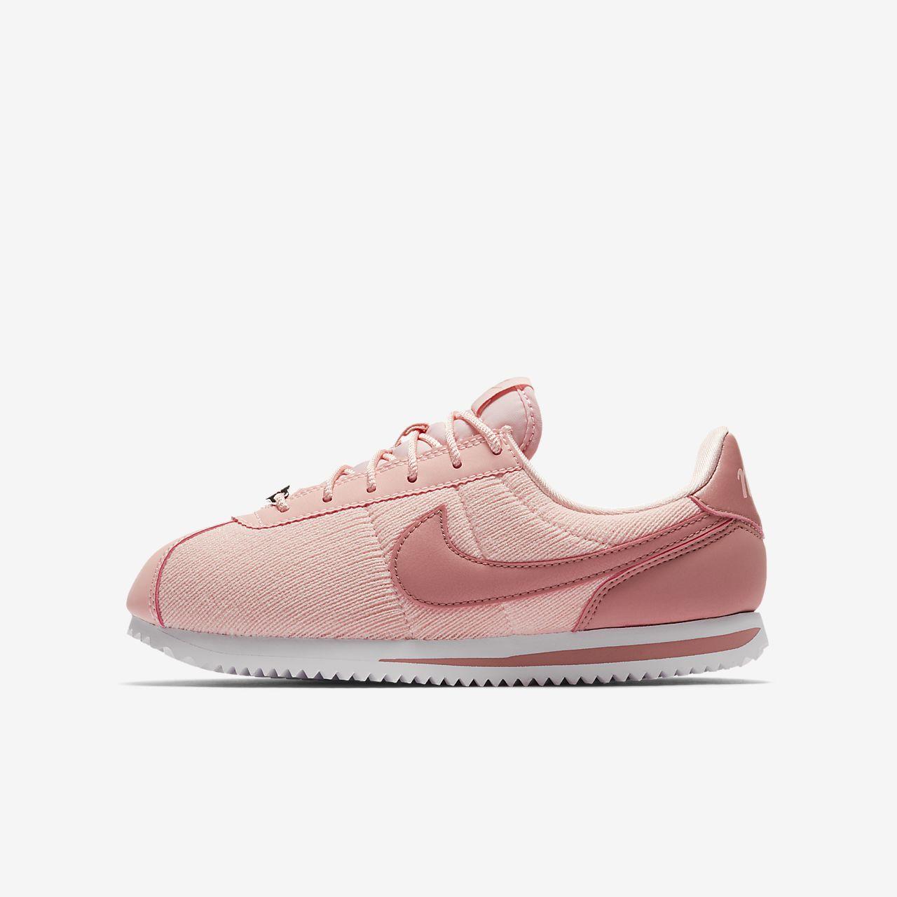 online store 491a8 85038 ... release date nike cortez basic text se sko til store børn 6e6f1 40df0